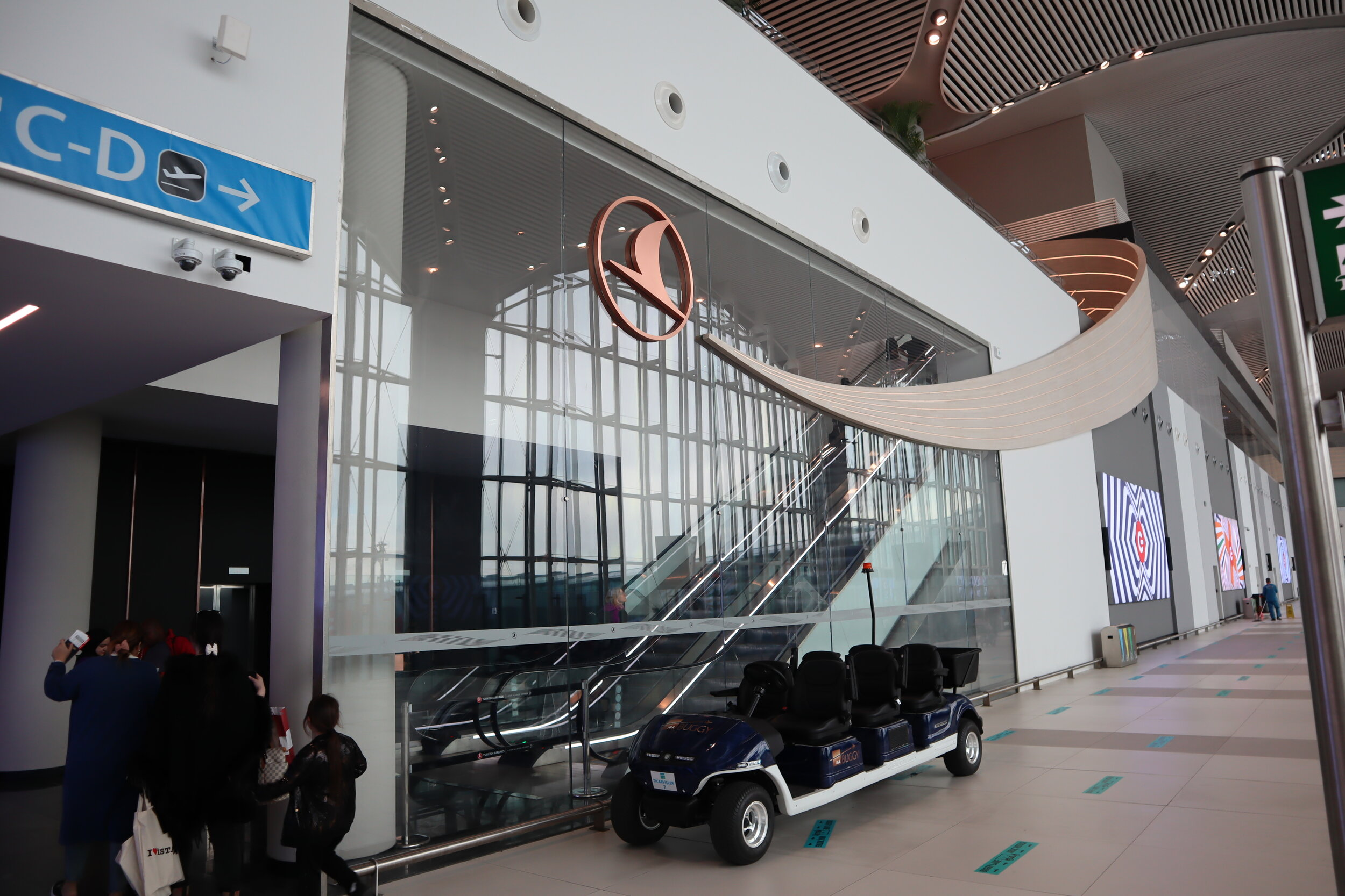 Turkish Airlines Business Lounge Istanbul – Entrance