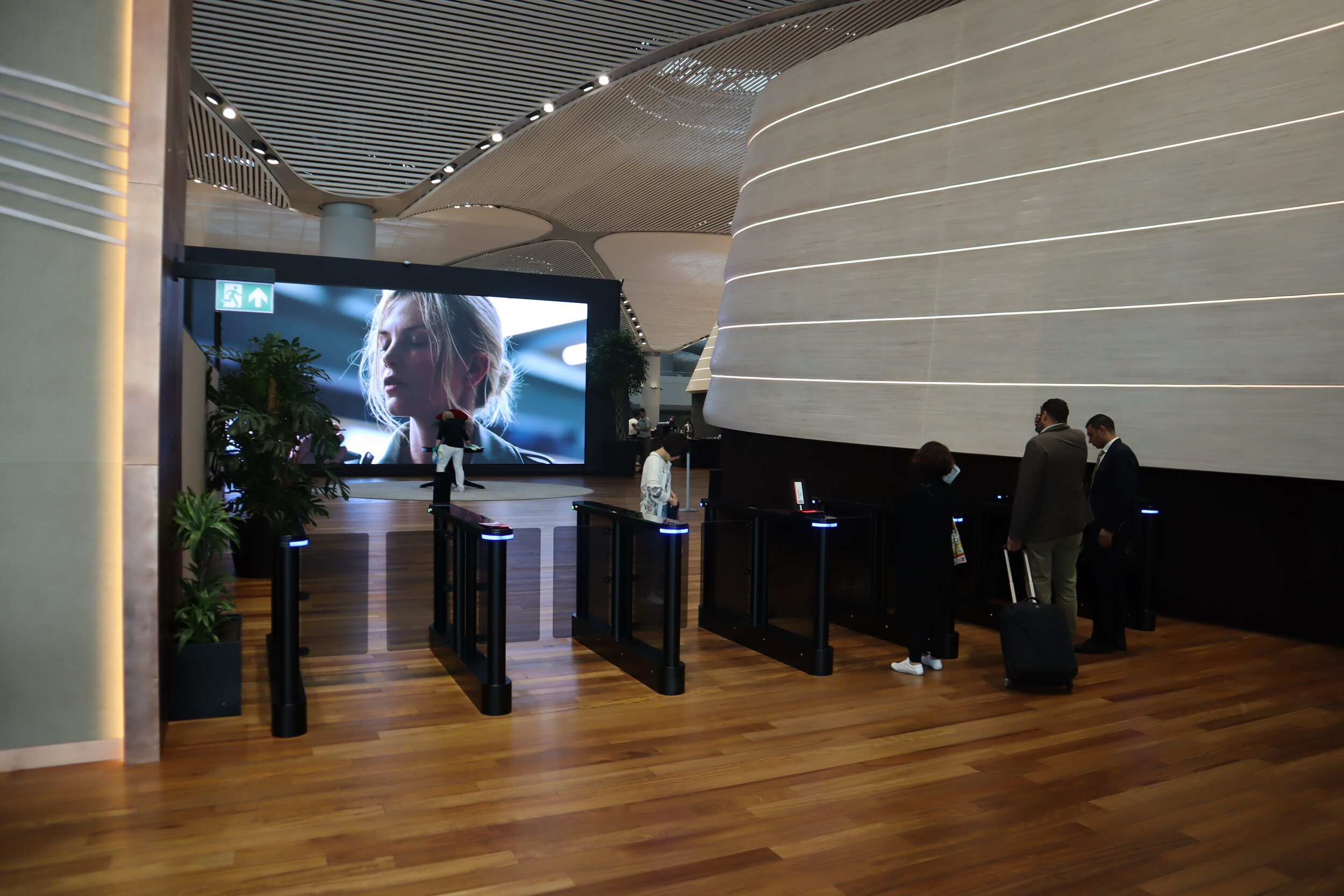 Turkish Airlines Business Lounge Istanbul – Automatic entry