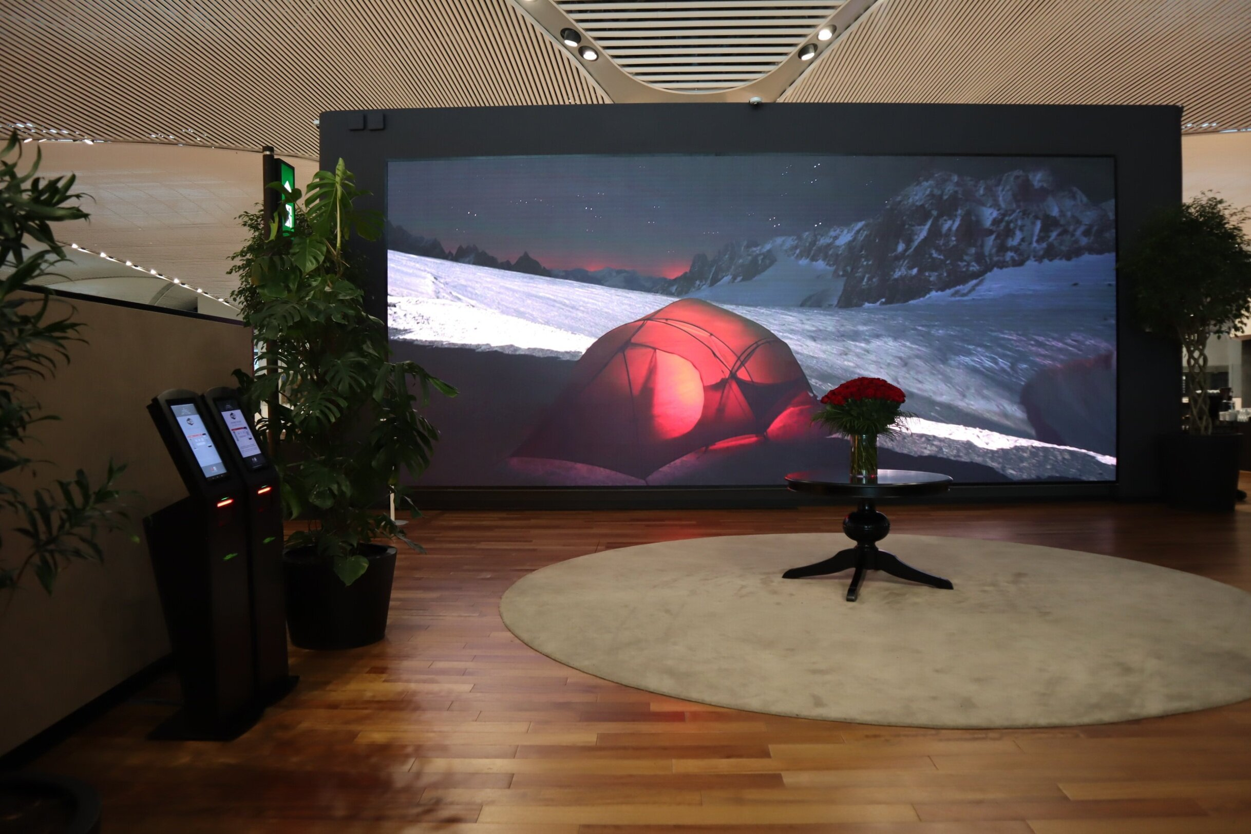 Turkish Airlines Business Lounge Istanbul – Entryway