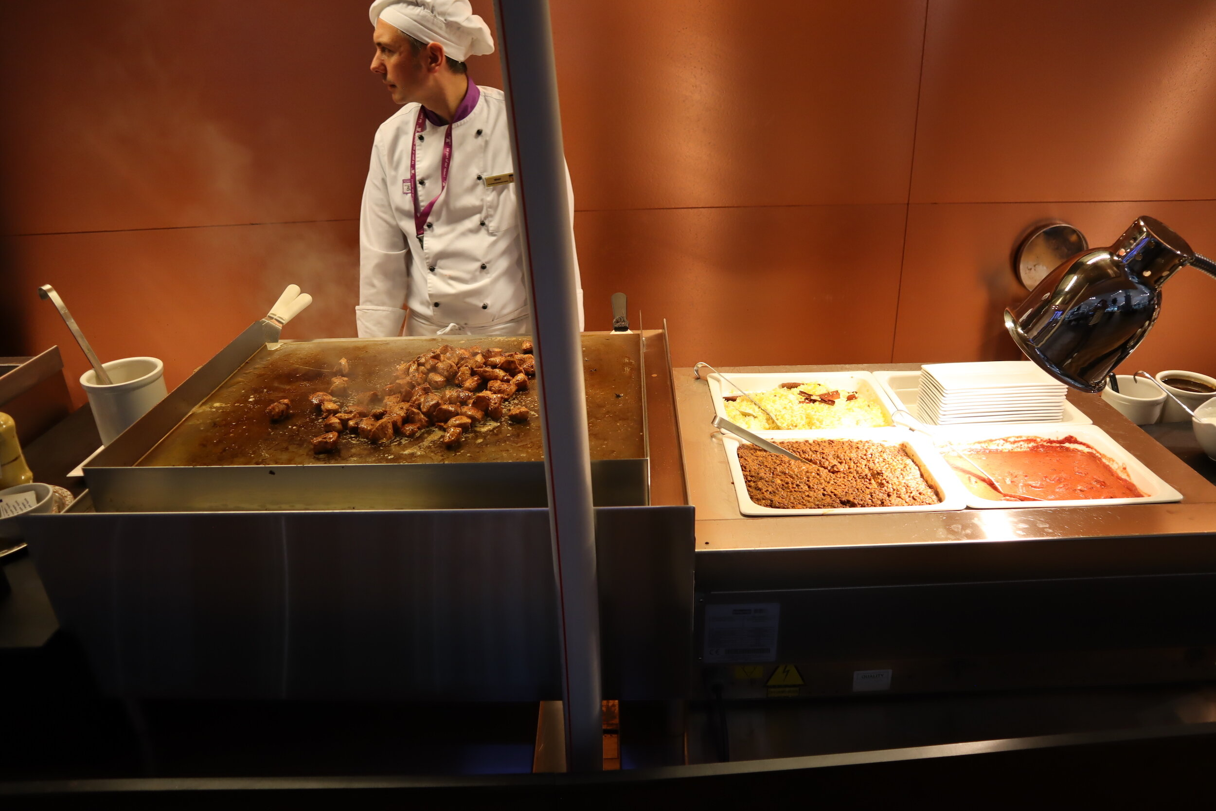Turkish Airlines Business Lounge Istanbul – Iskender station