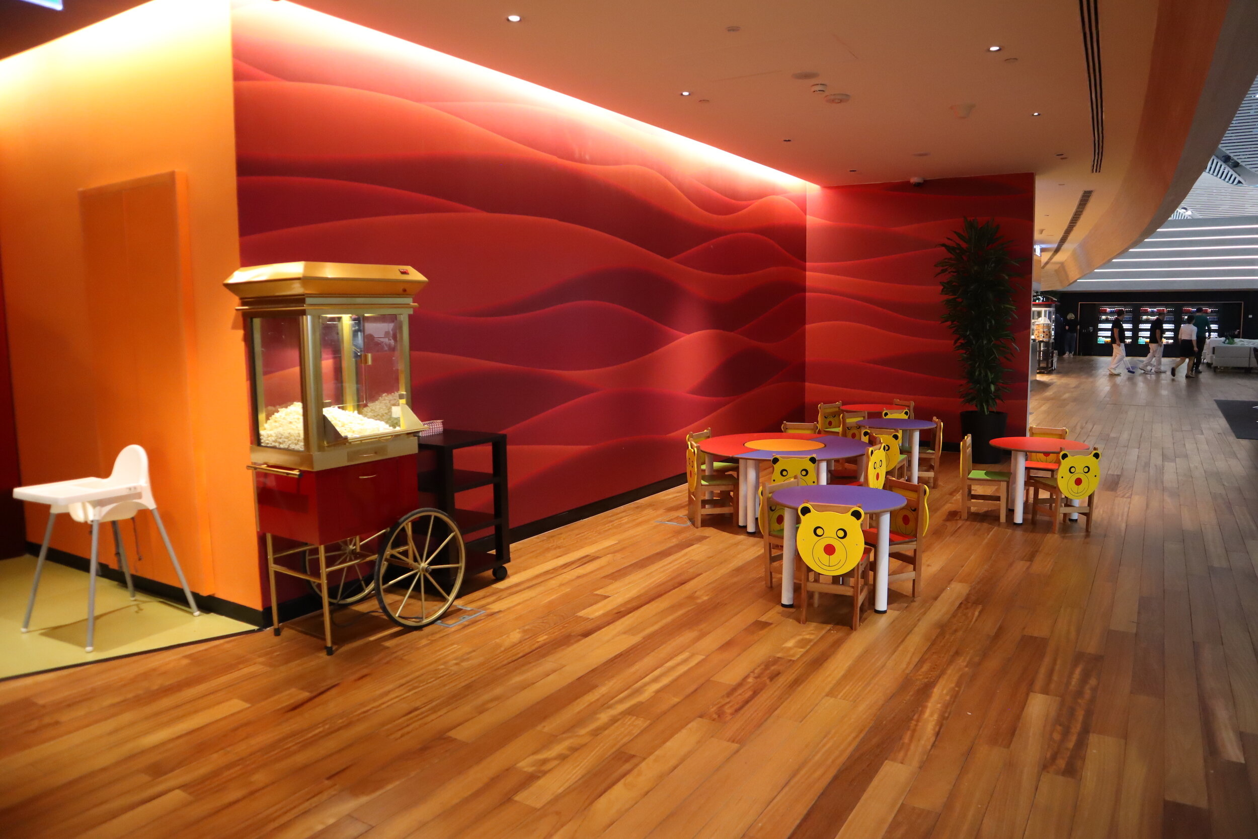 Turkish Airlines Business Lounge Istanbul – Kids' play area