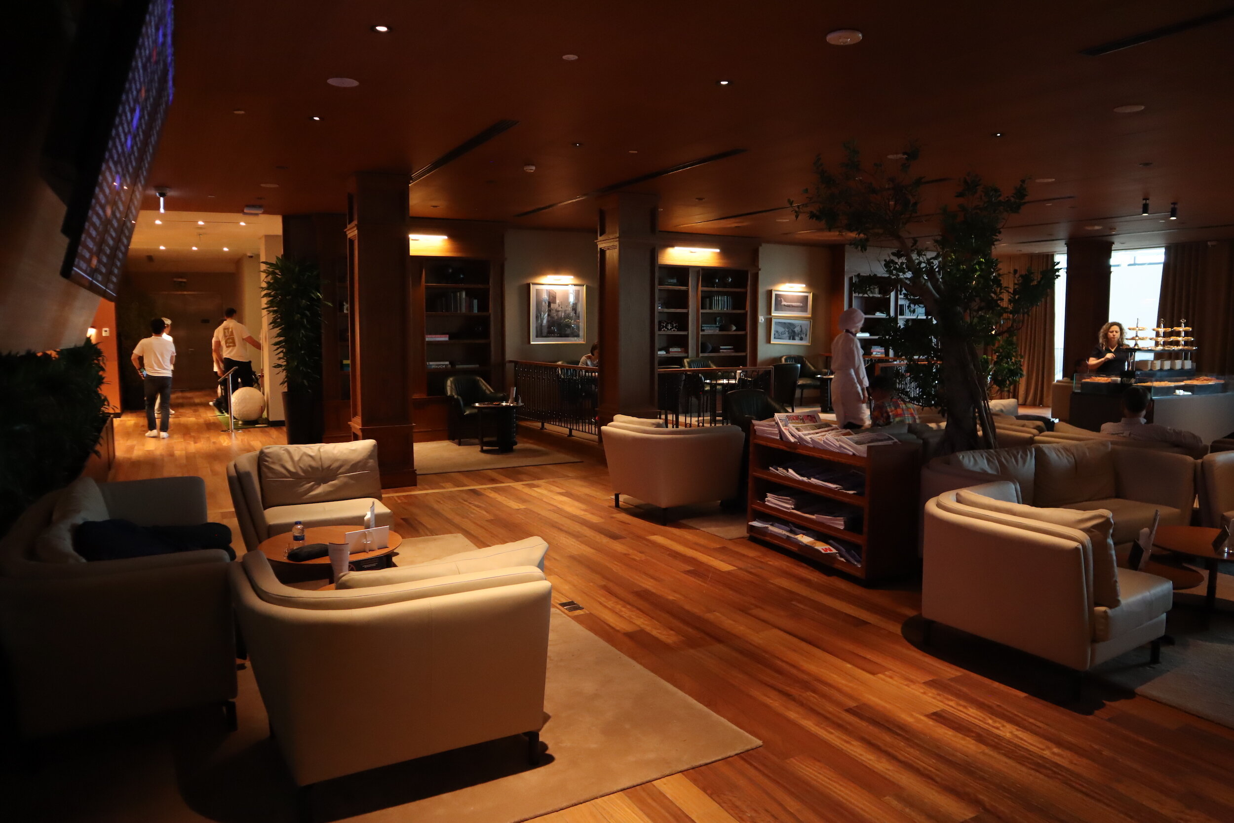 Turkish Airlines Business Lounge Istanbul – Library