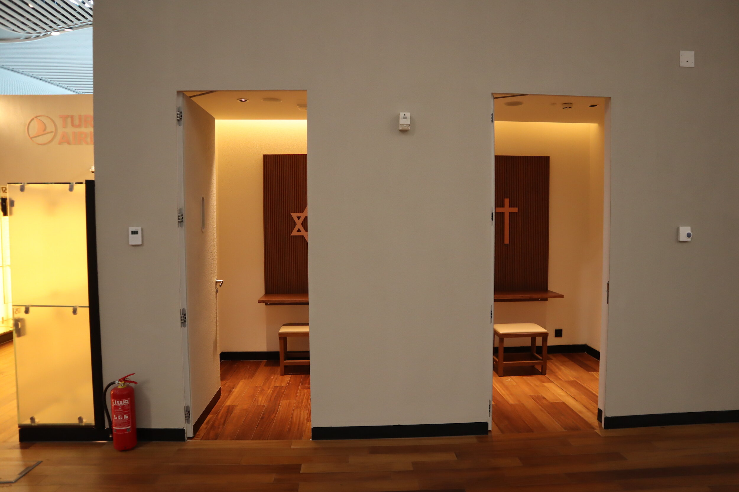 Turkish Airlines Business Lounge Istanbul – Prayer rooms
