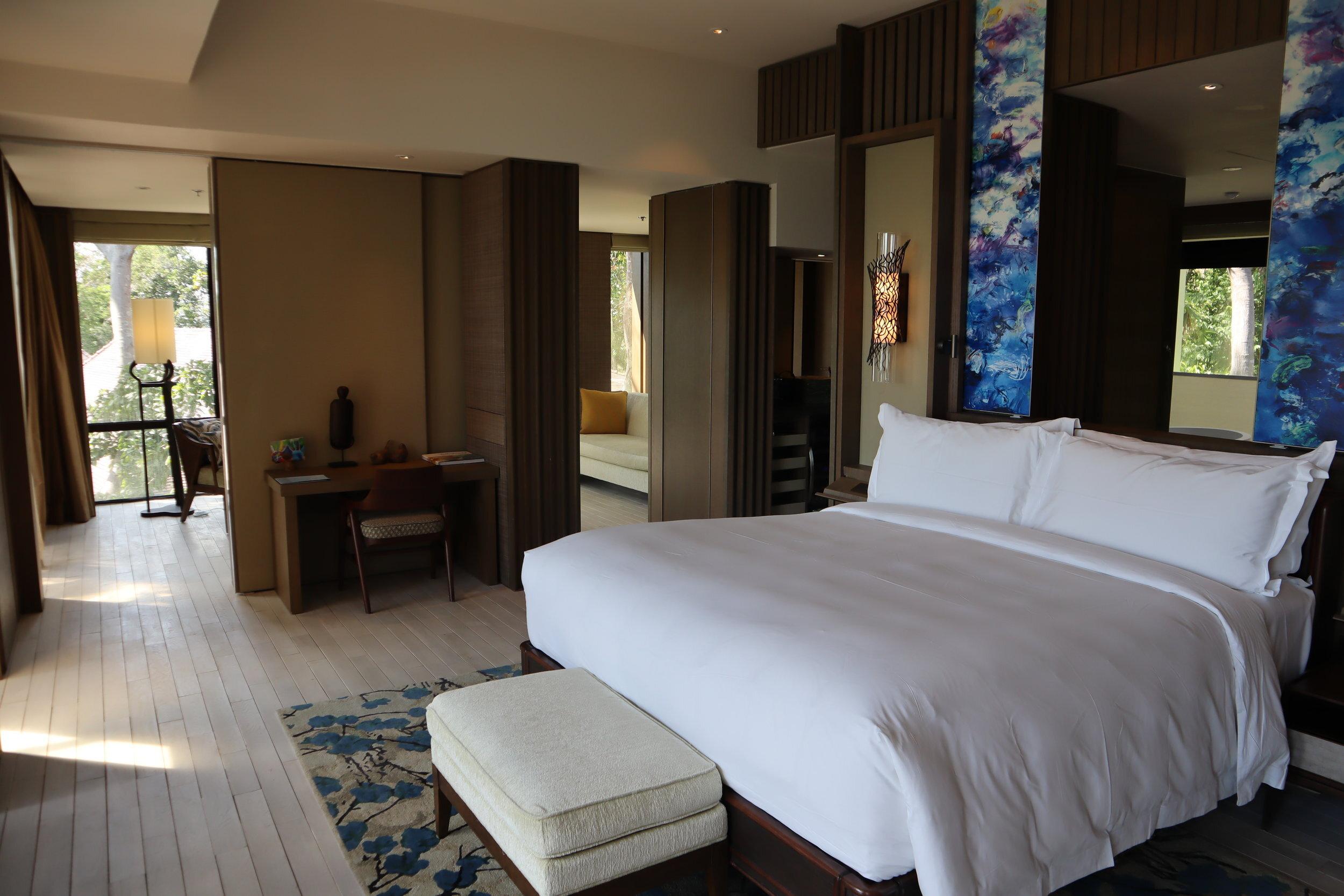 Rainforest Junior Suite at  the Ritz-Carlton, Langkawi