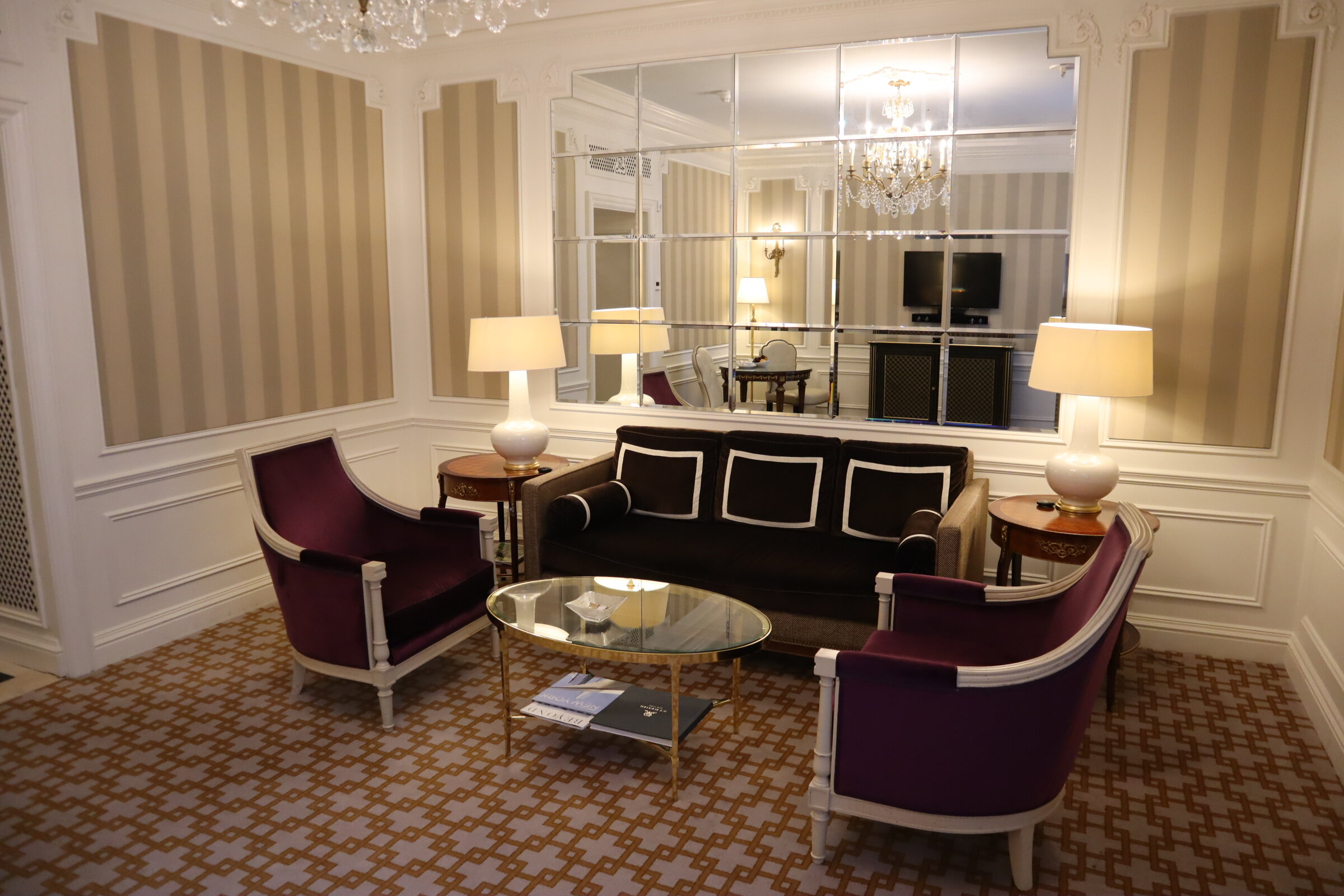 Madison Suite at the St. Regis New York