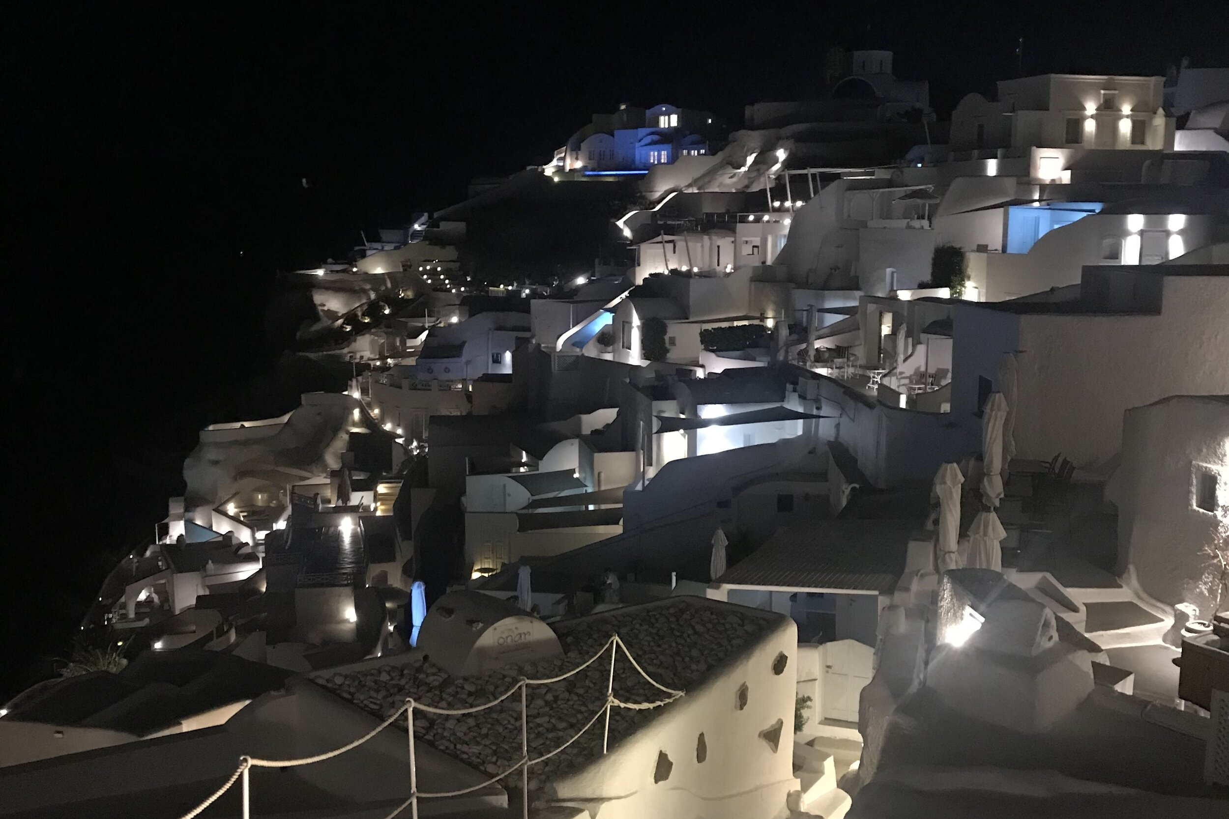 Mystique Santorini – Night view