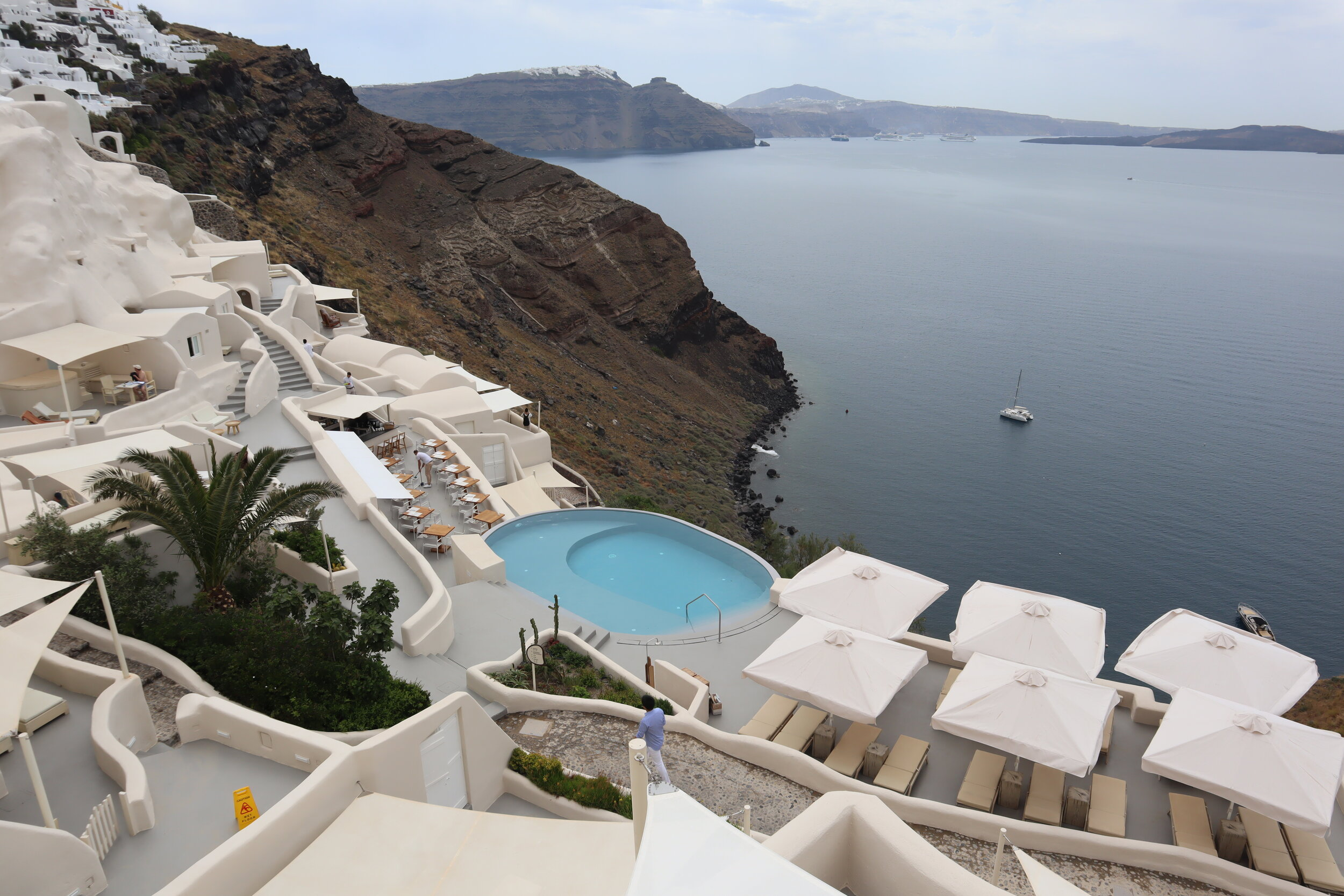 Mystique Santorini – Resort views