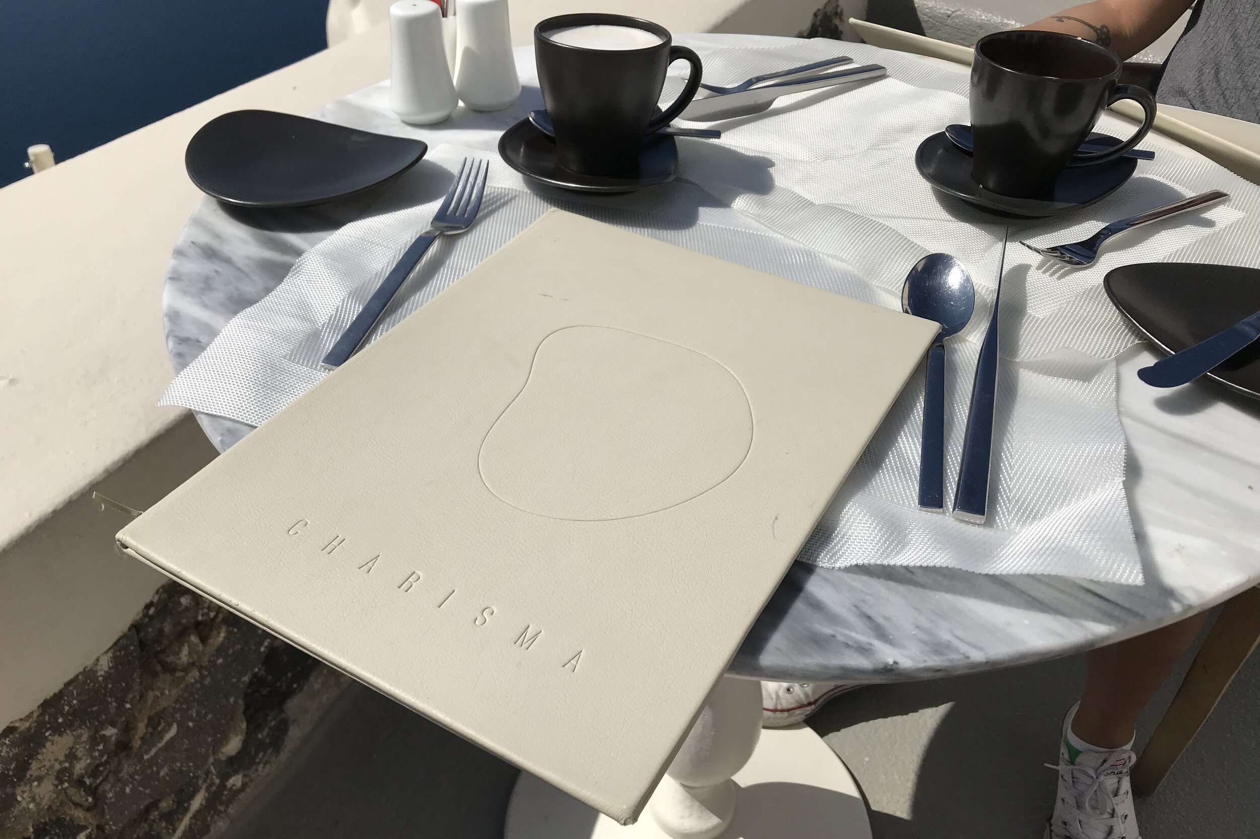 Mystique Santorini – Breakfast menu
