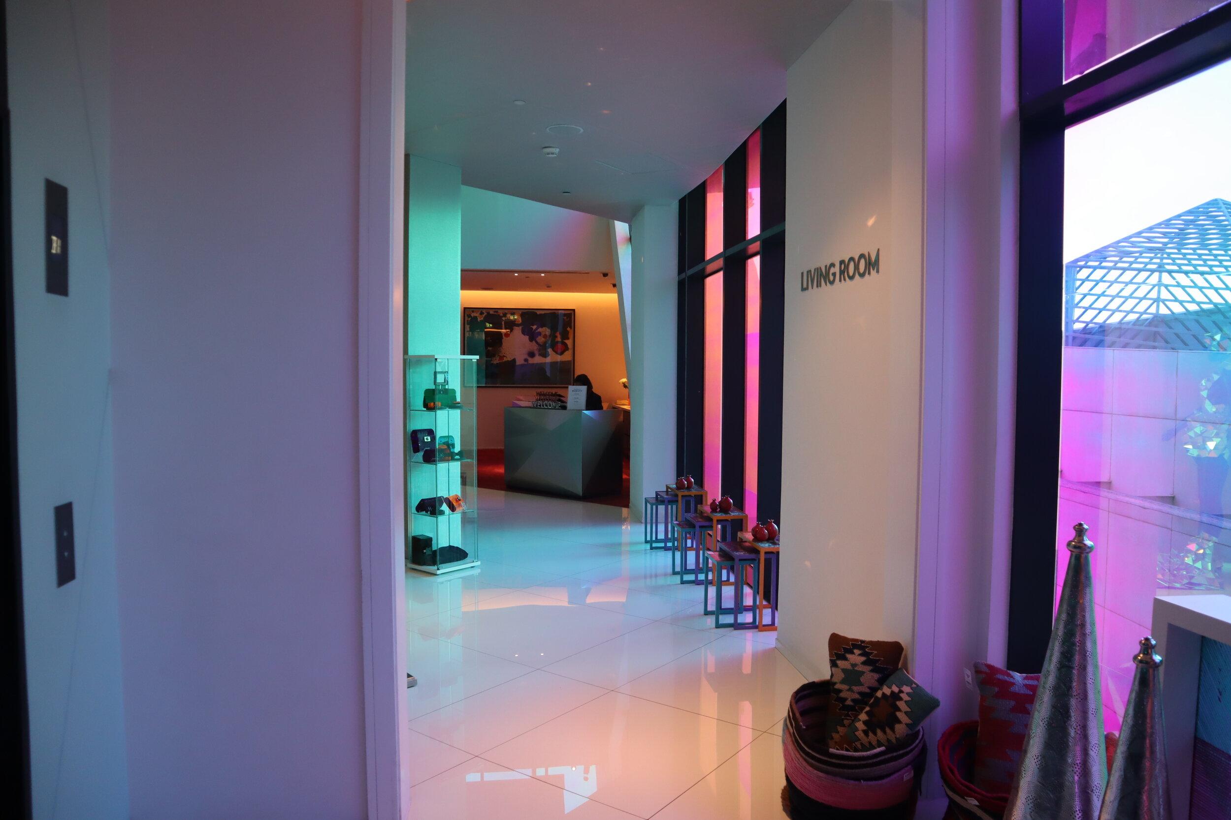 W Amman – Living Room