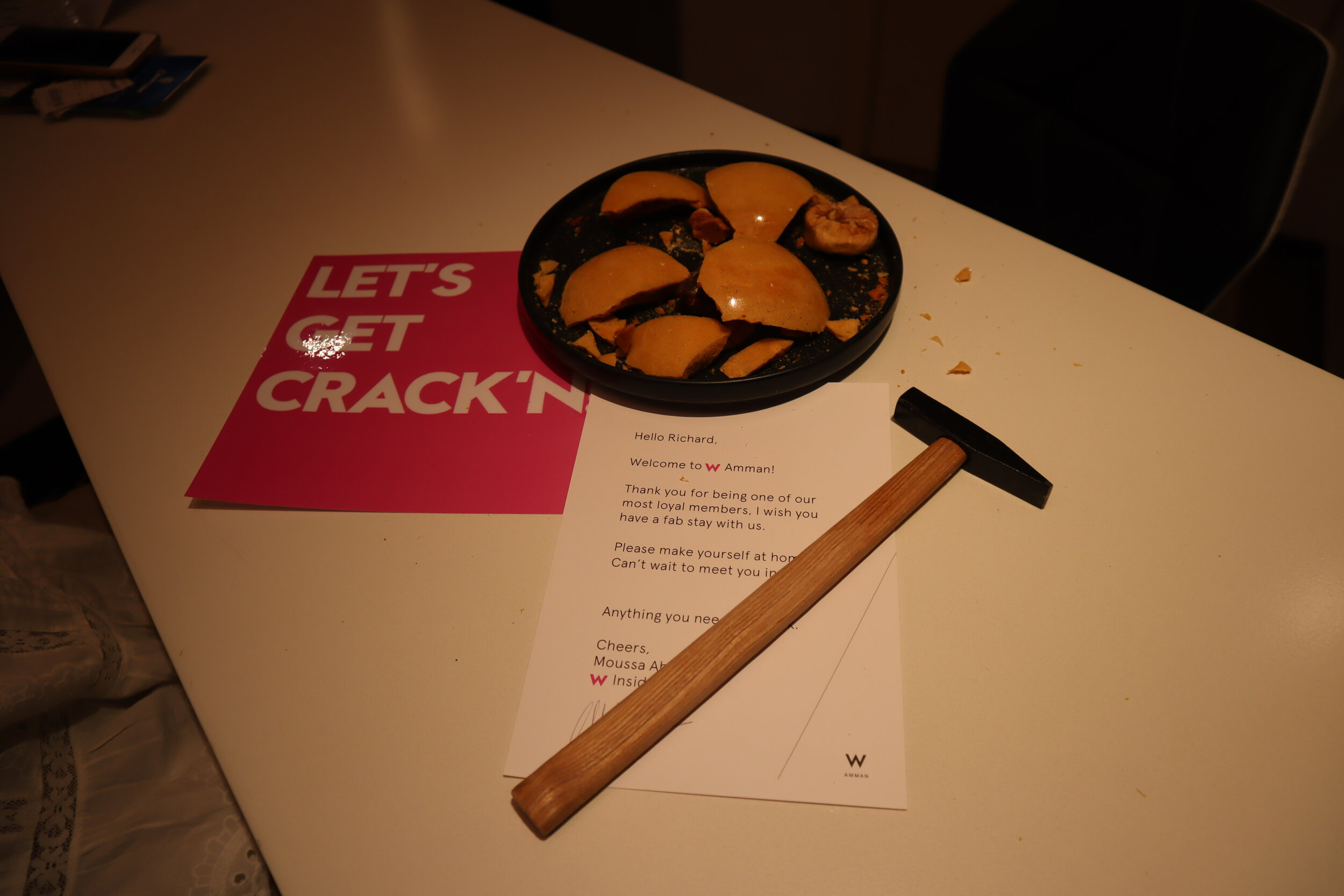 W Amman – Let's Get Crack'n