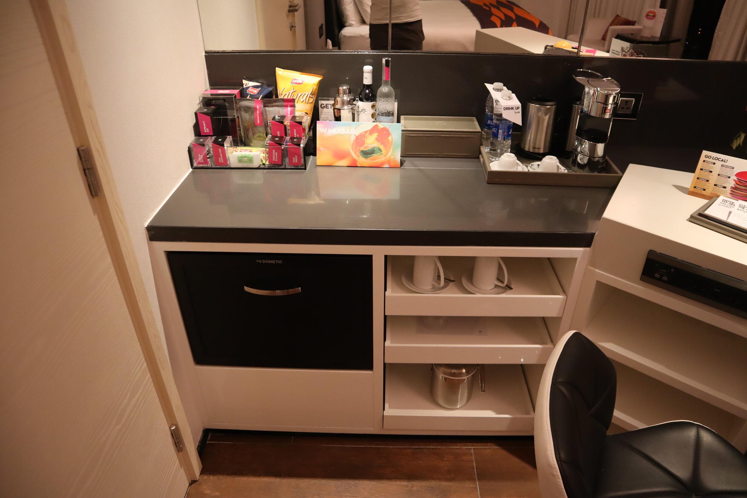 W Amman – Cool Corner Suite pantry