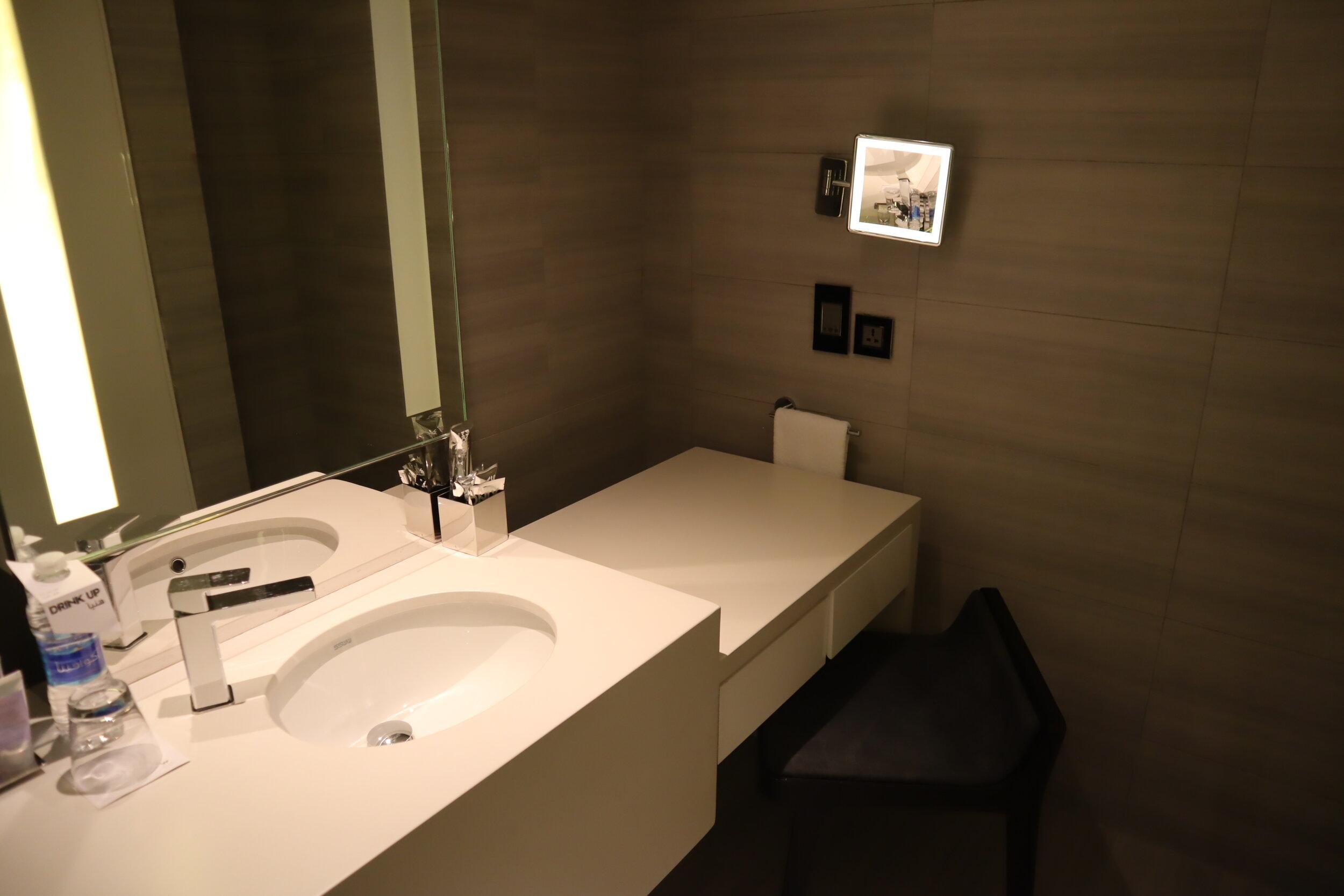 W Amman – Cool Corner Suite vanity