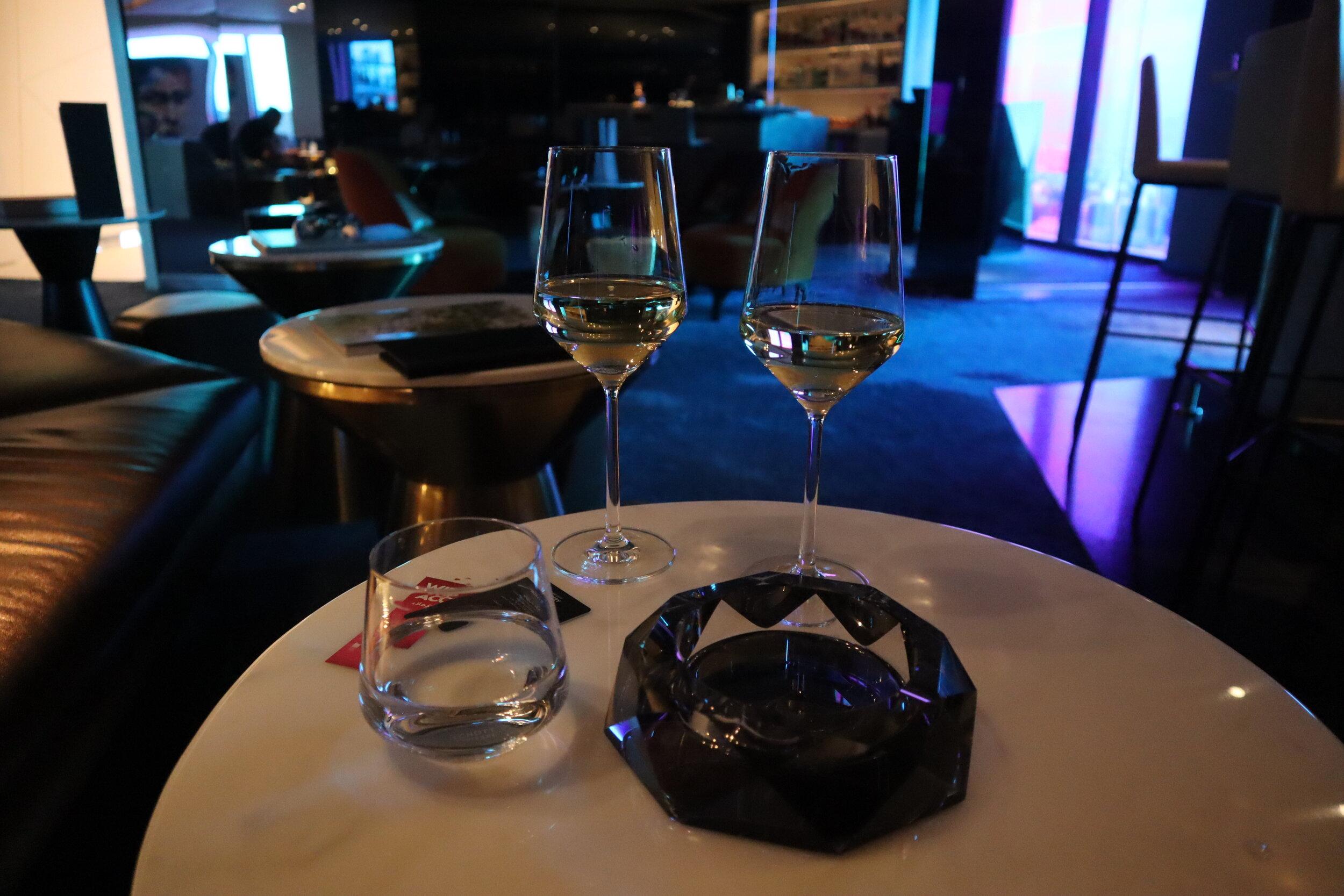 W Amman – Happy Hour wine