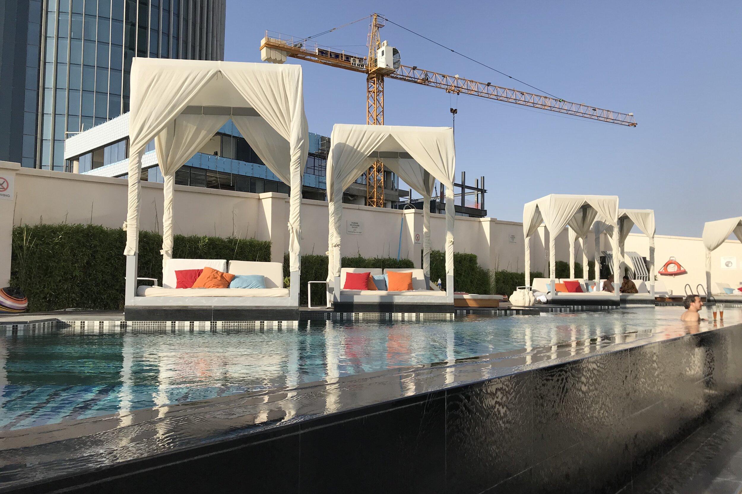 W Amman – Outdoor pool