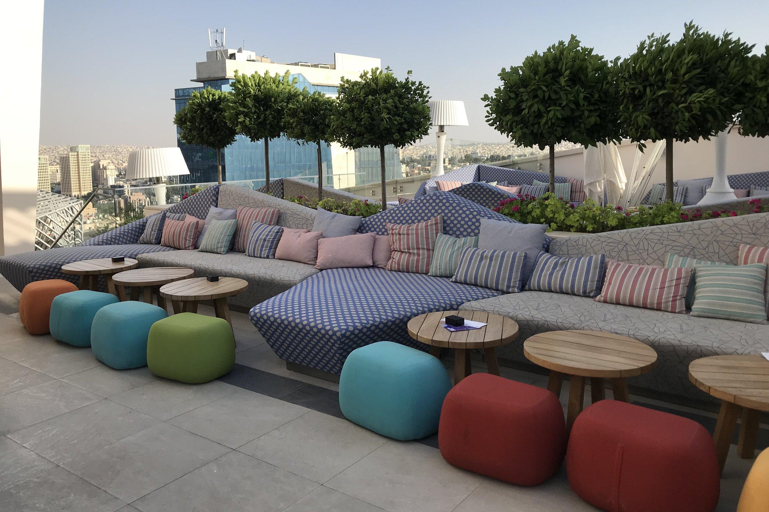 W Amman – Outdoor patio