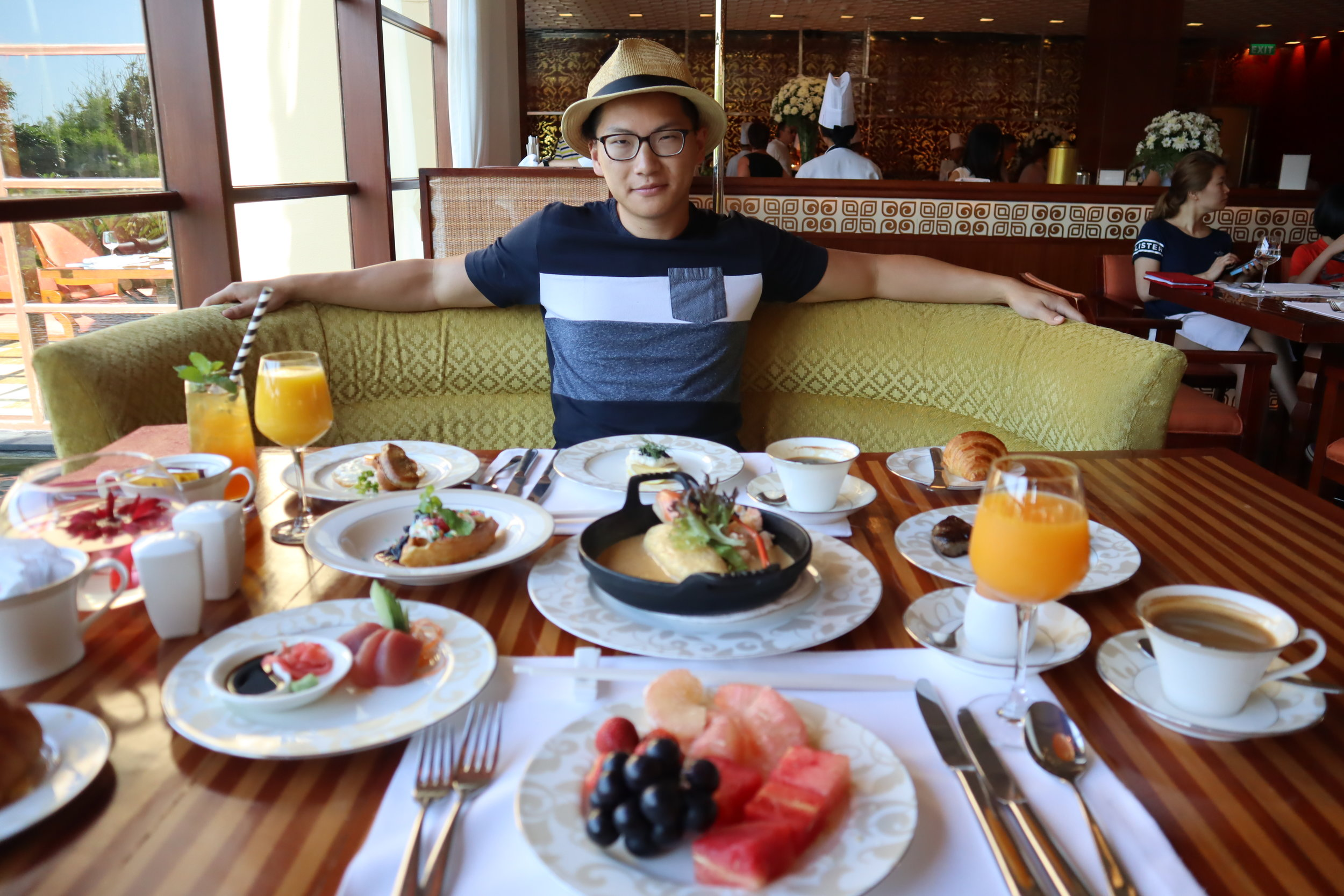 Breakfast at the  St. Regis Bali