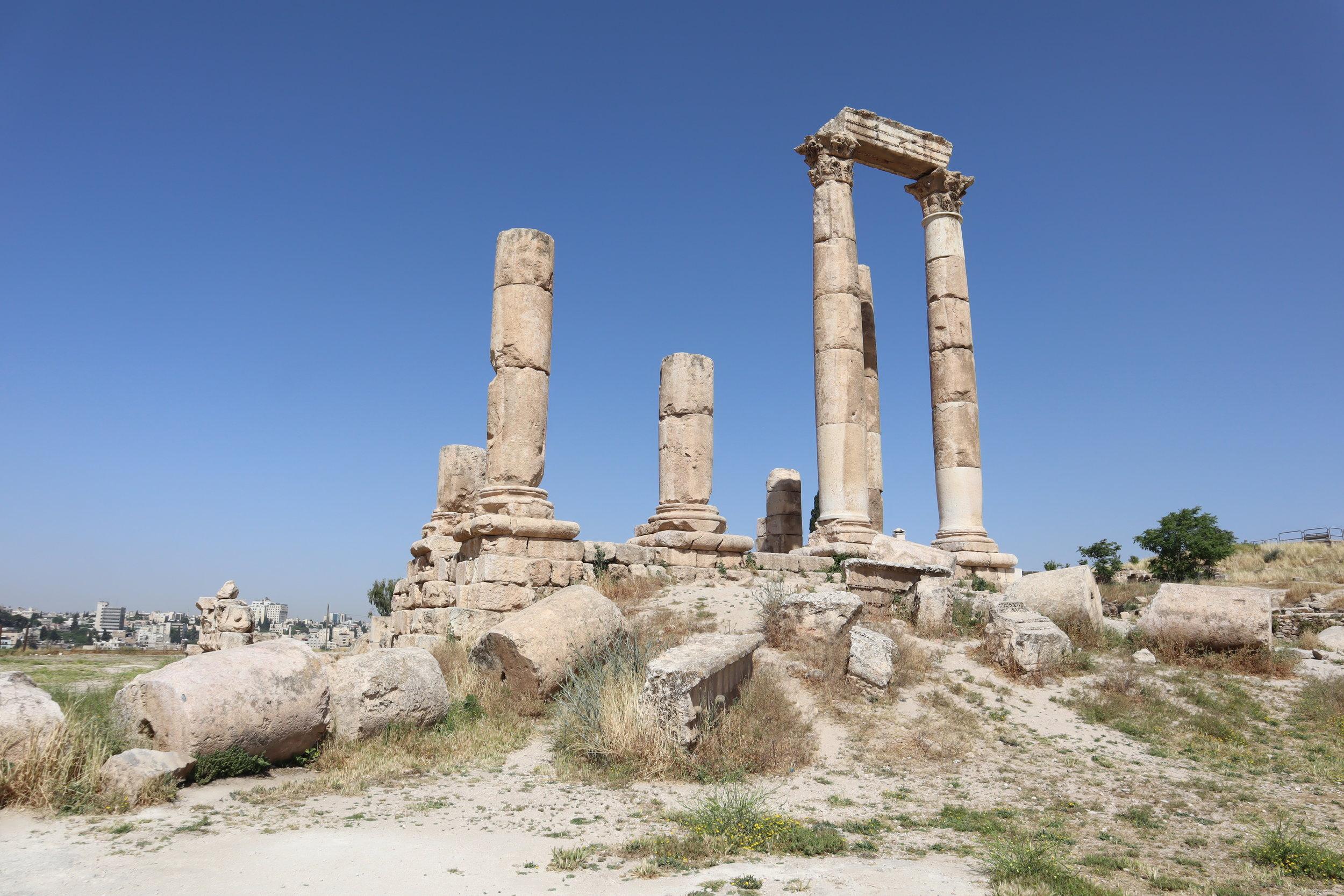 Amman Citadel – Temple of Hercules