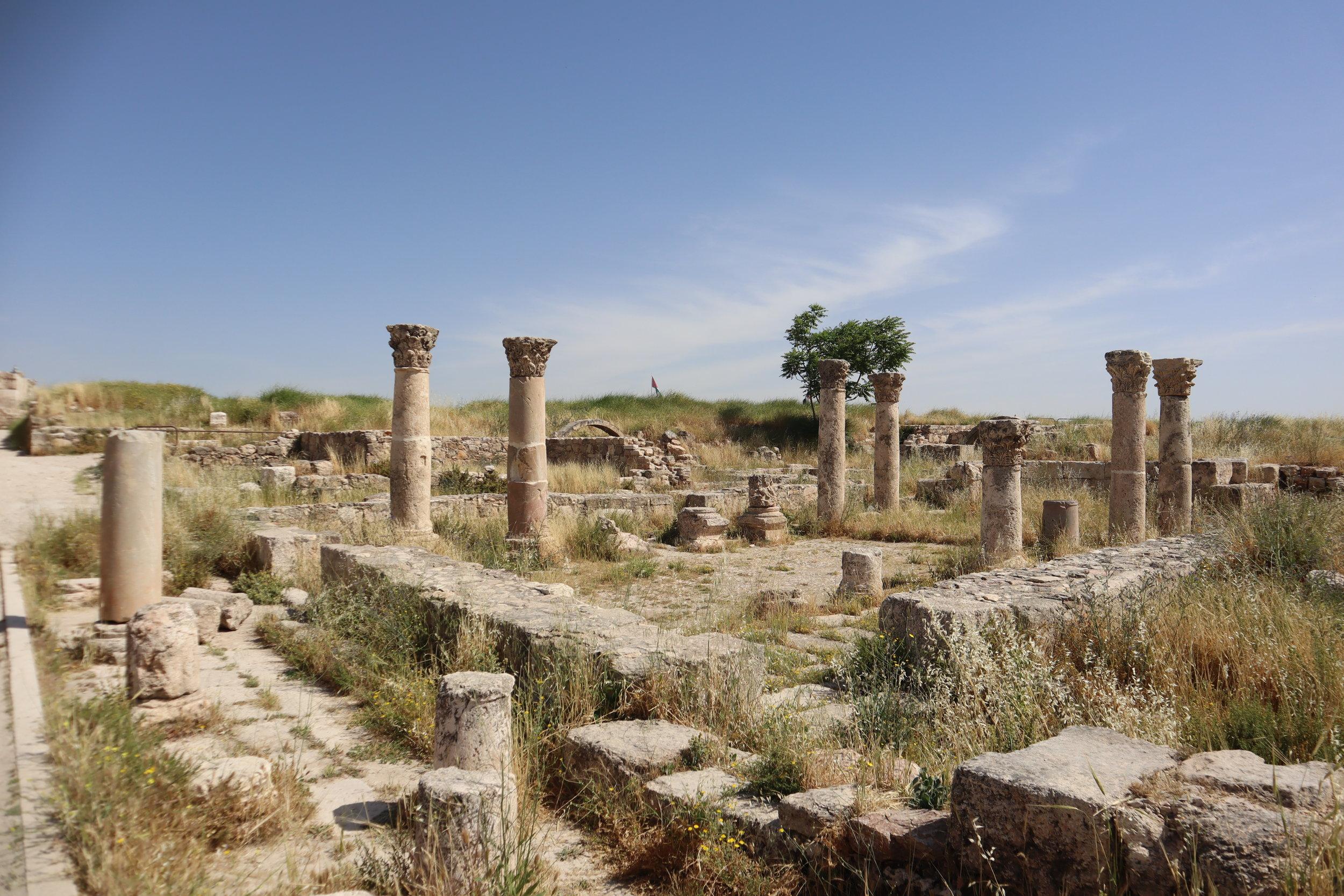 Amman Citadel – Byzantine Church