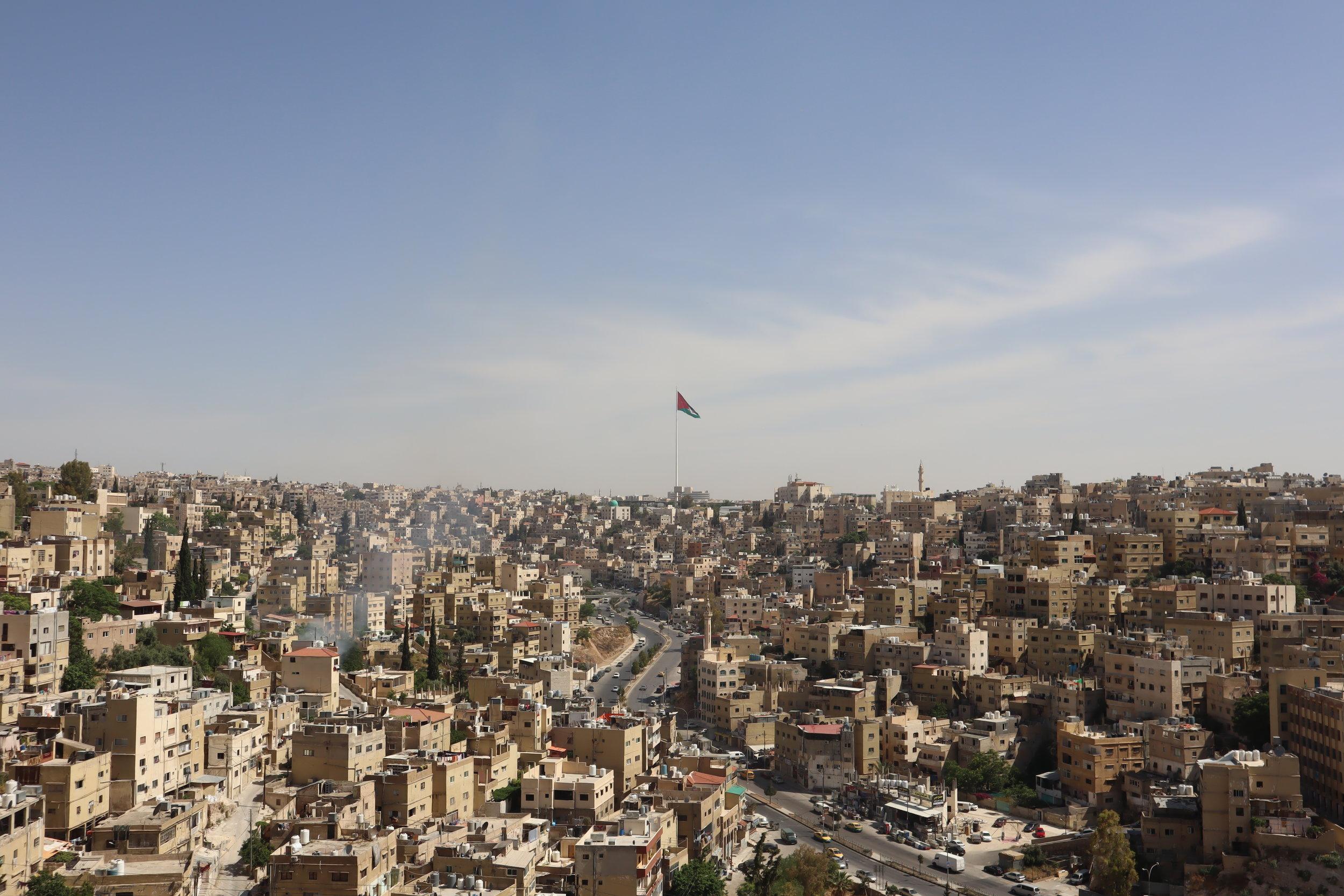 Amman Citadel – View from the Citadel