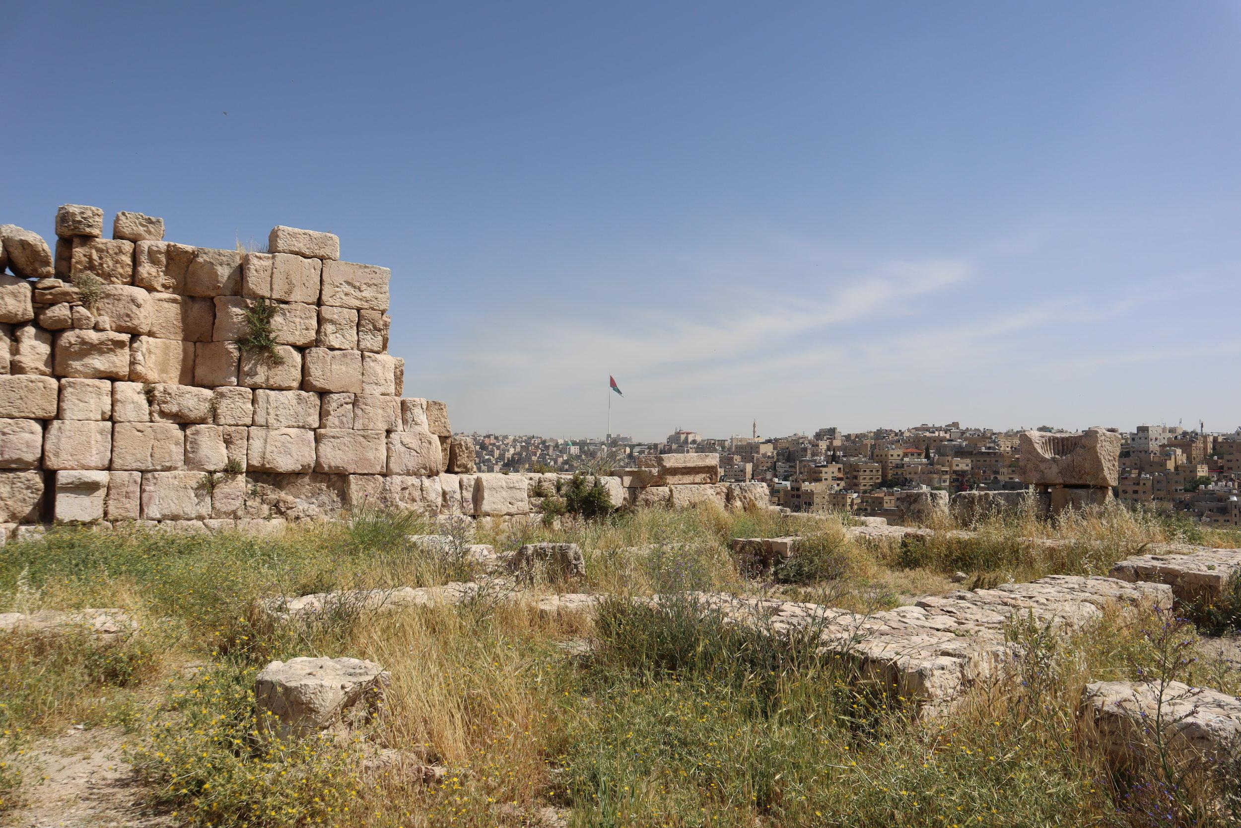 Amman Citadel – Citadel ruins