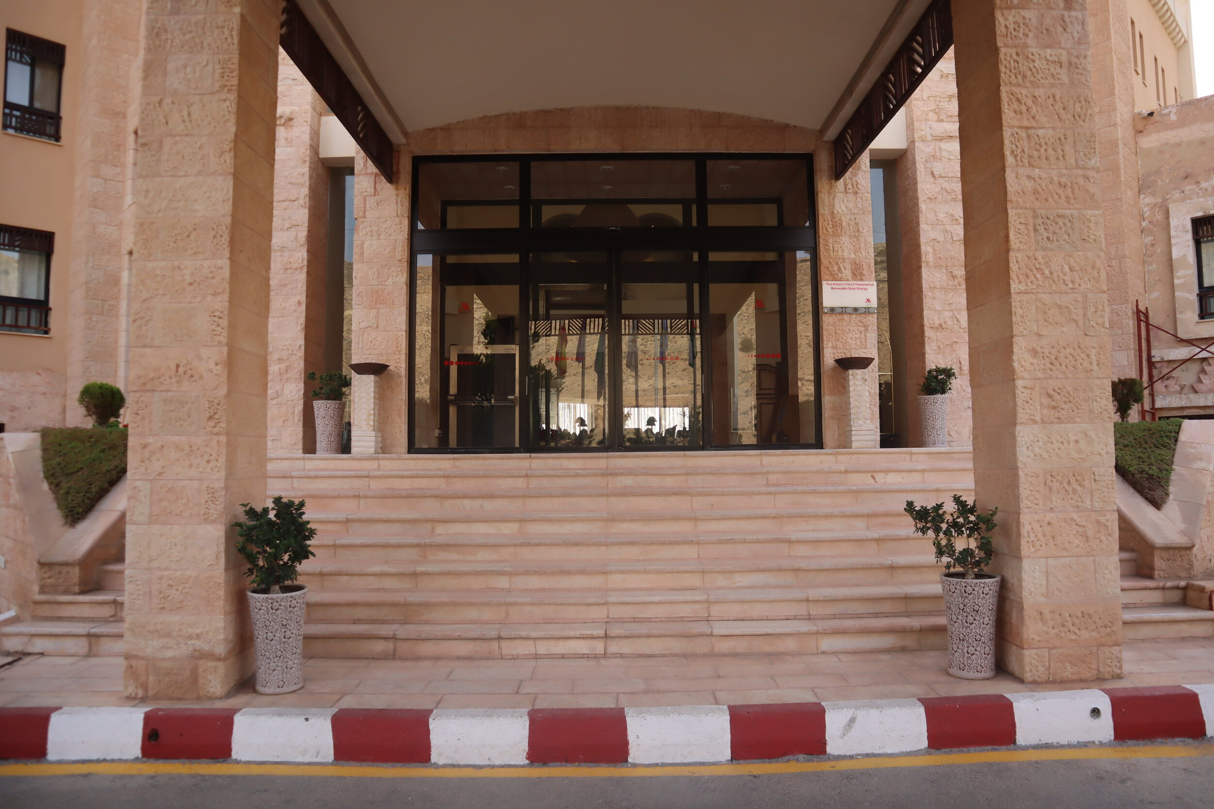 Marriott Petra – Entrance