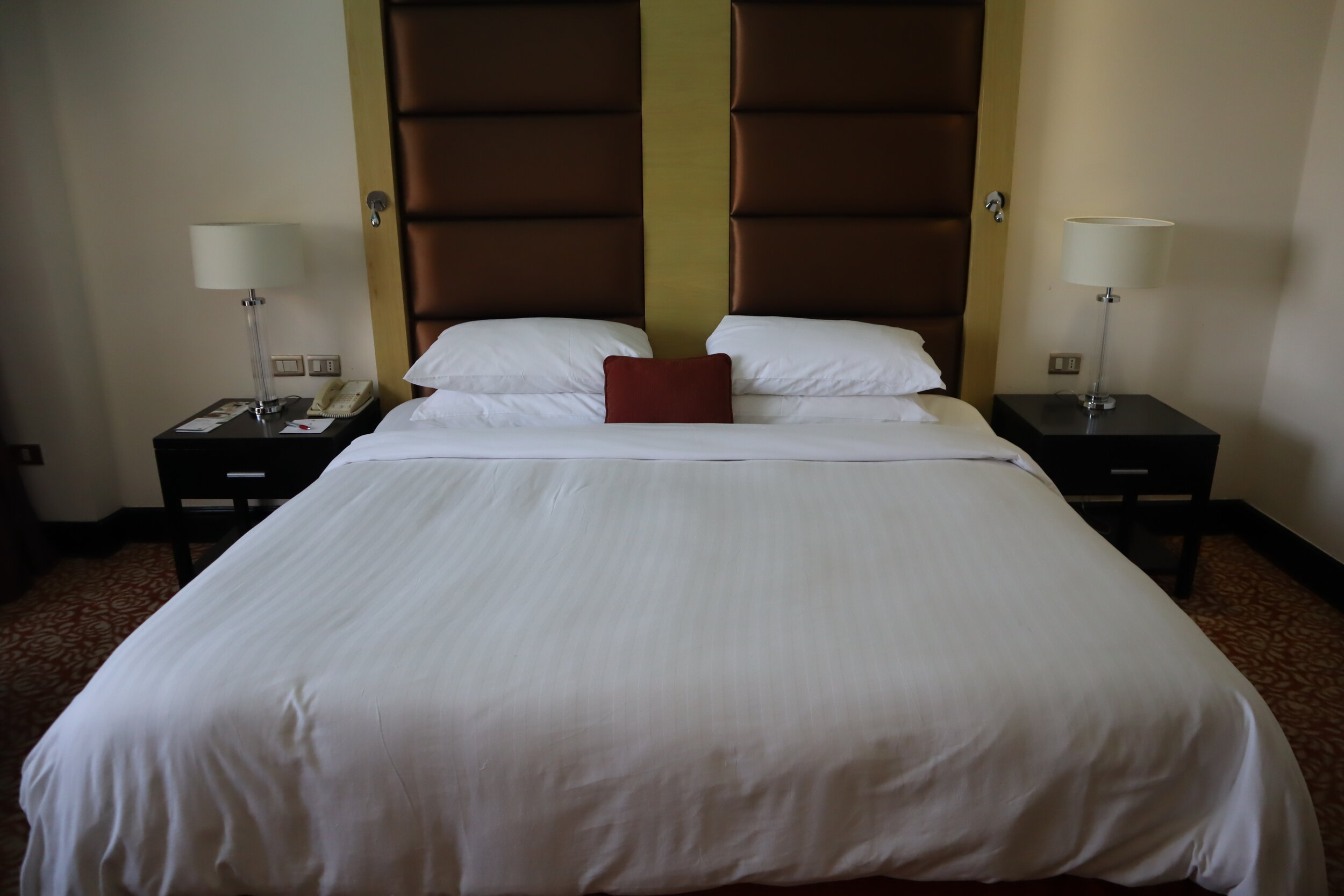 Marriott Petra – King bed