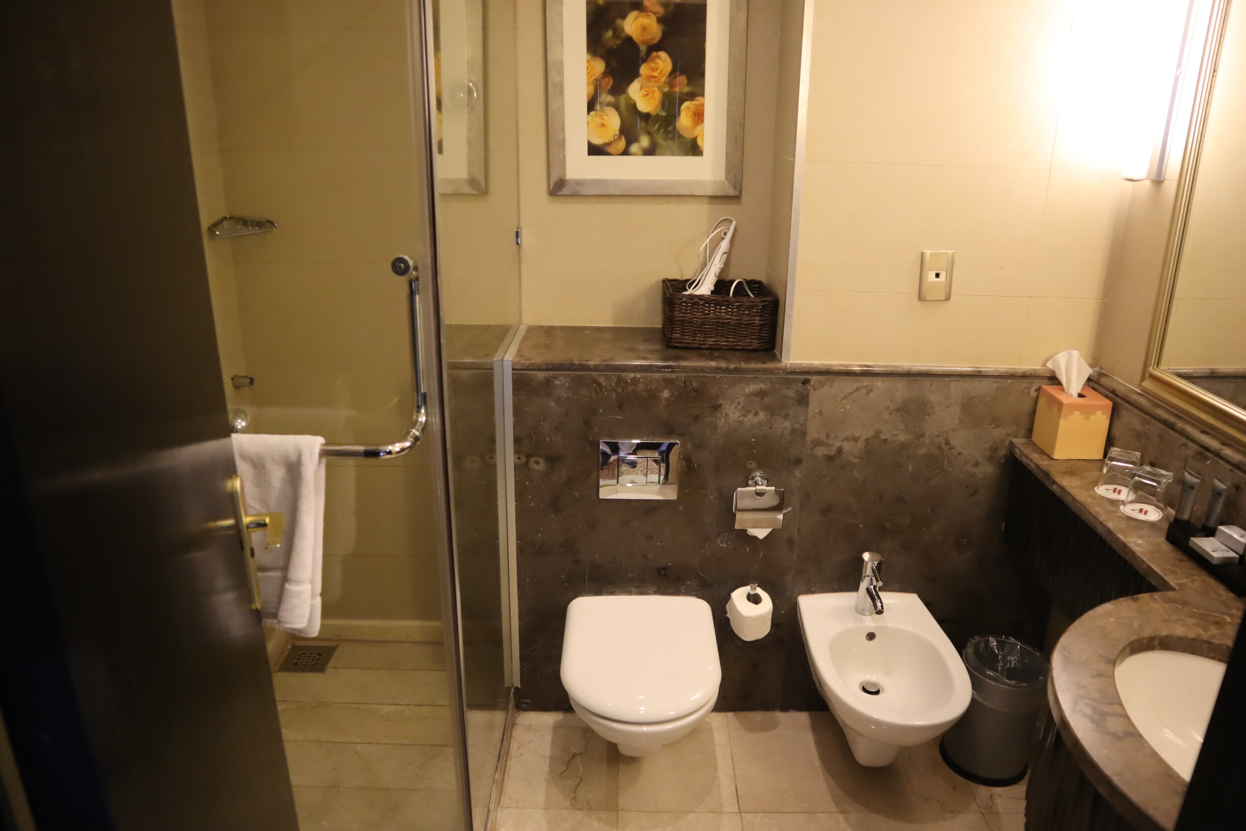 Marriott Petra – Bathroom
