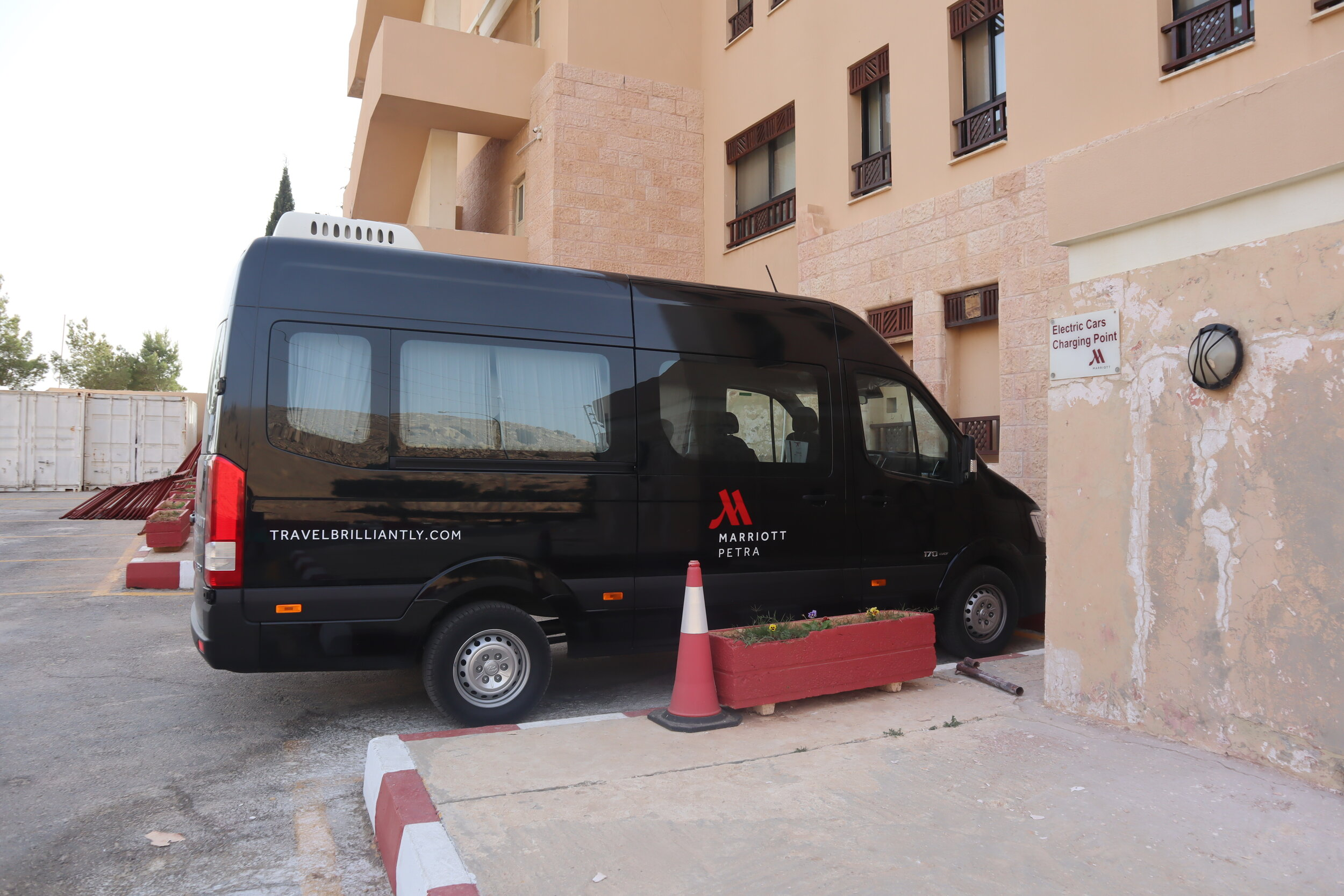 Marriott Petra – Shuttle bus