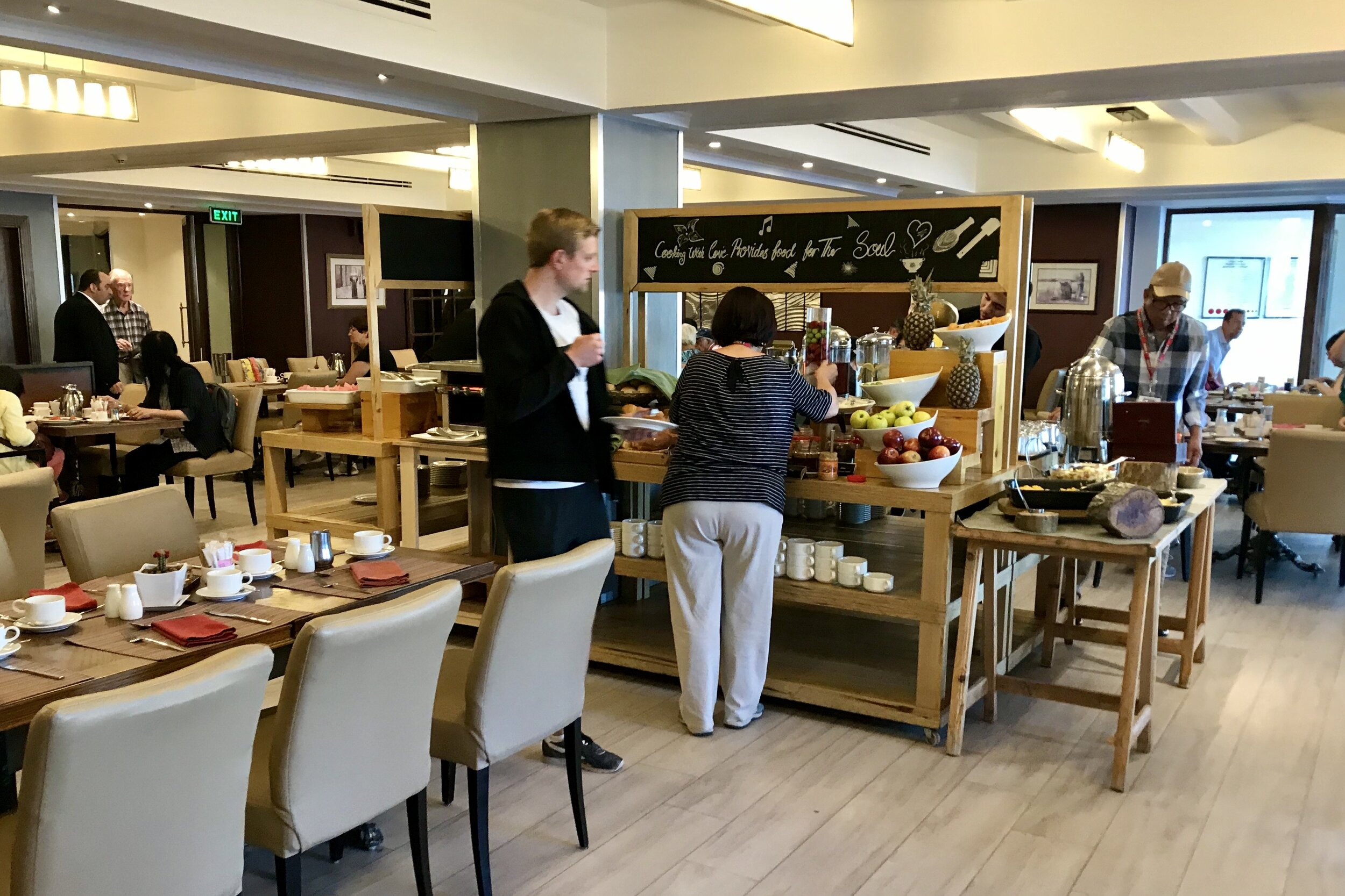 Marriott Petra – Breakfast at Dushara Restaurant