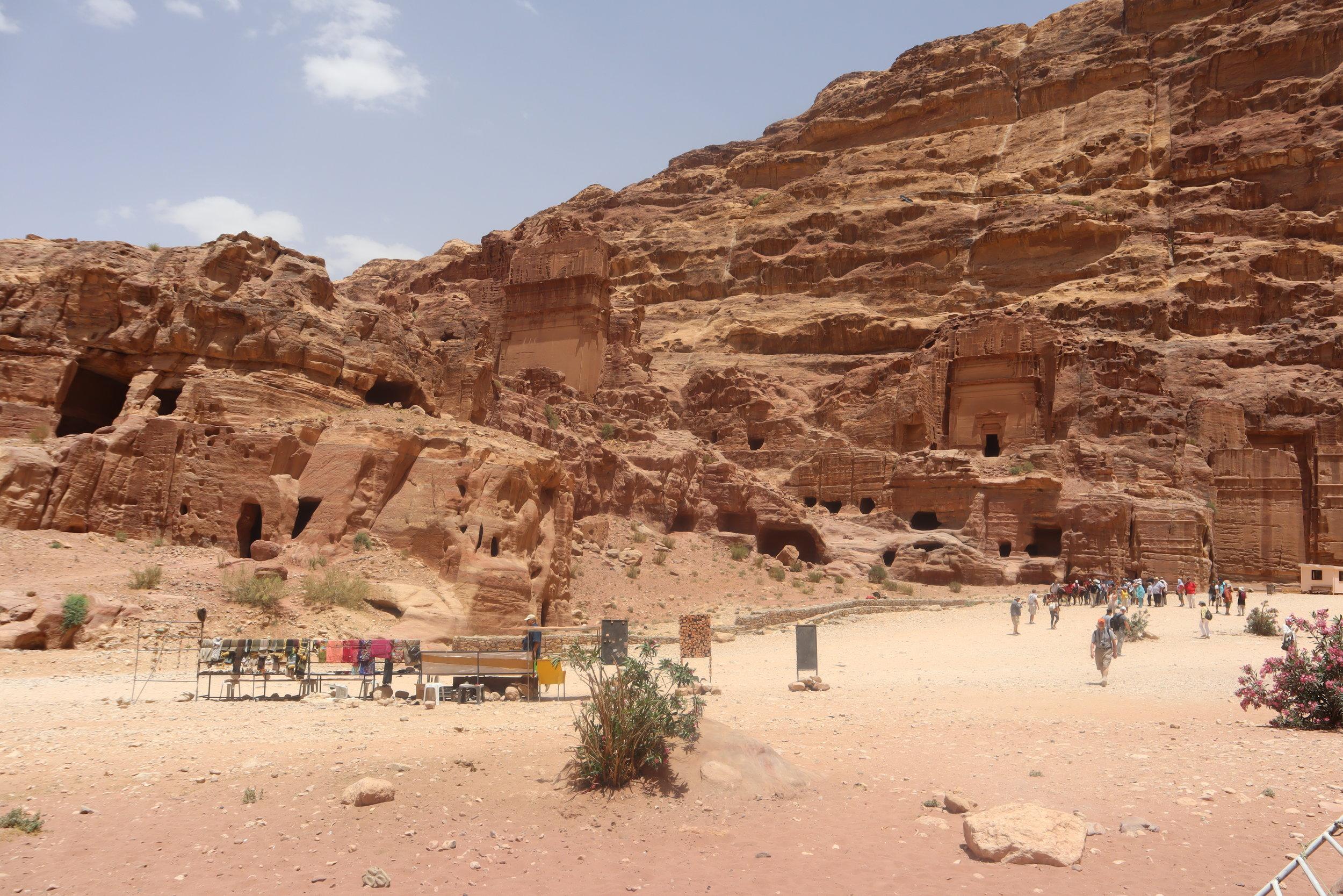 Petra, Jordan – Continuing along the trail