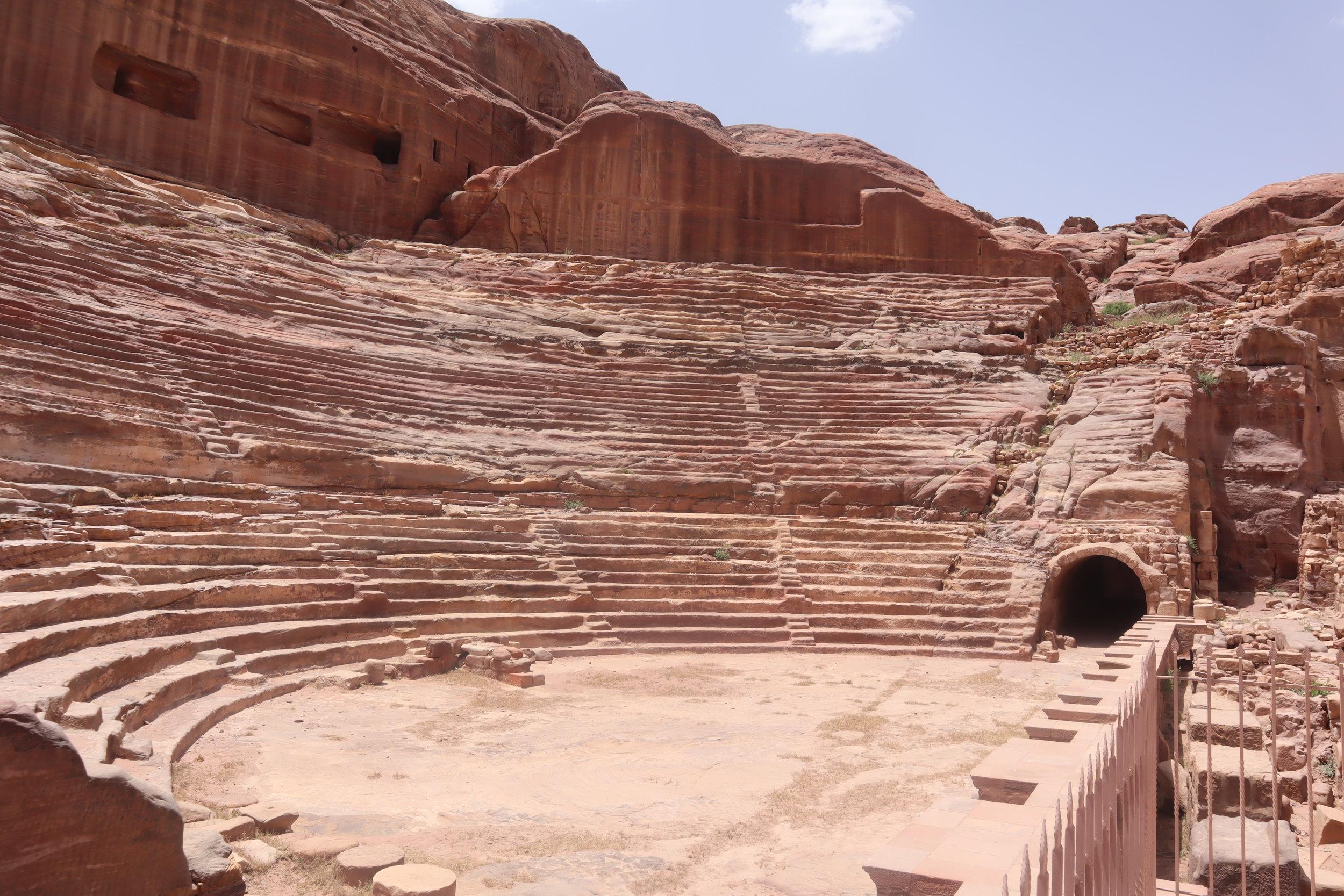 Petra, Jordan – Ancient amphitheatre