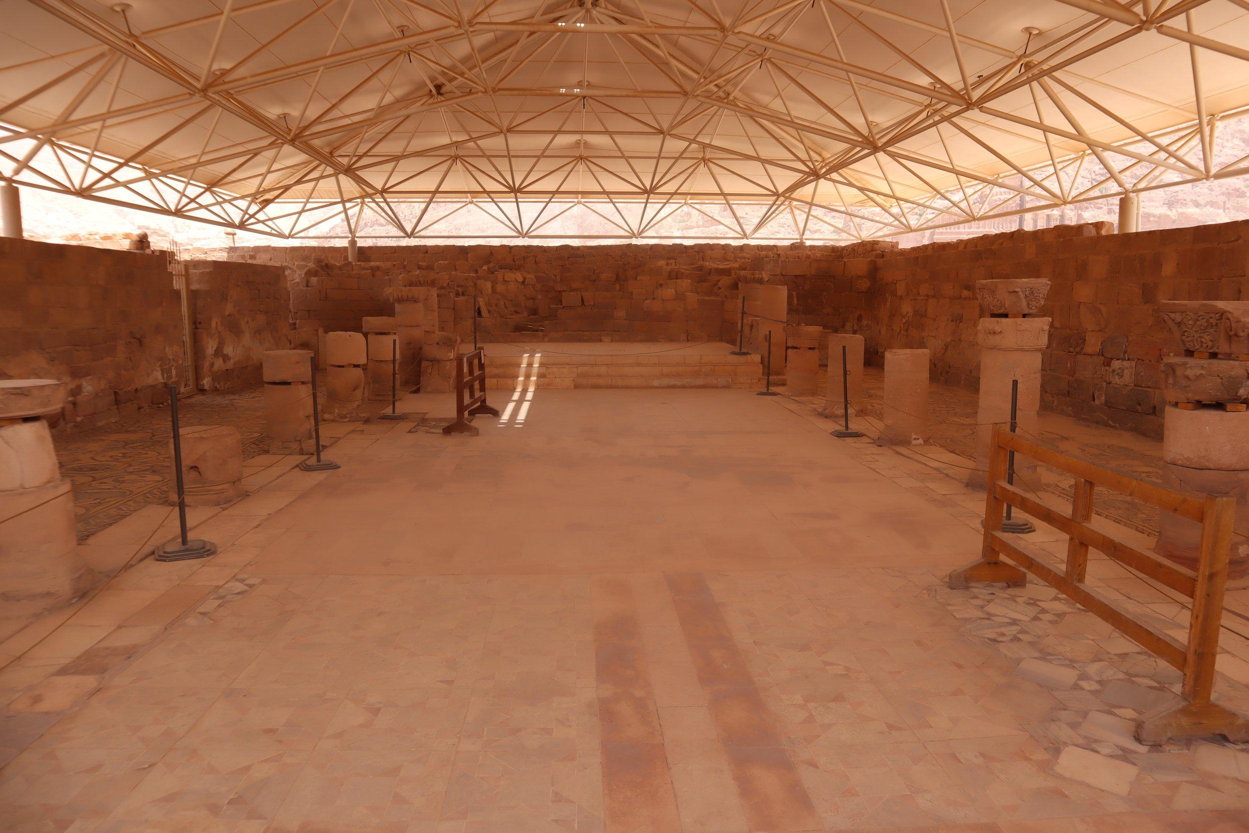Petra, Jordan – Byzantine Church