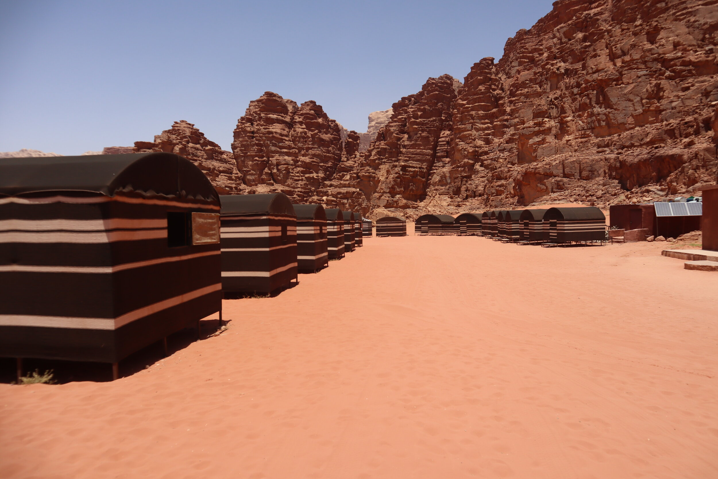 Wadi Rum Bedouin Camp – Camp grounds