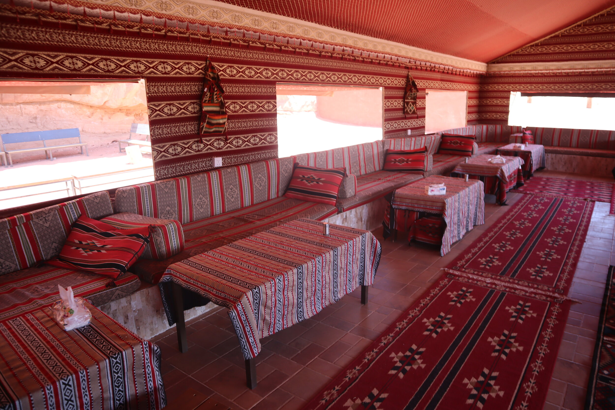 Wadi Rum Bedouin Camp – Common tent