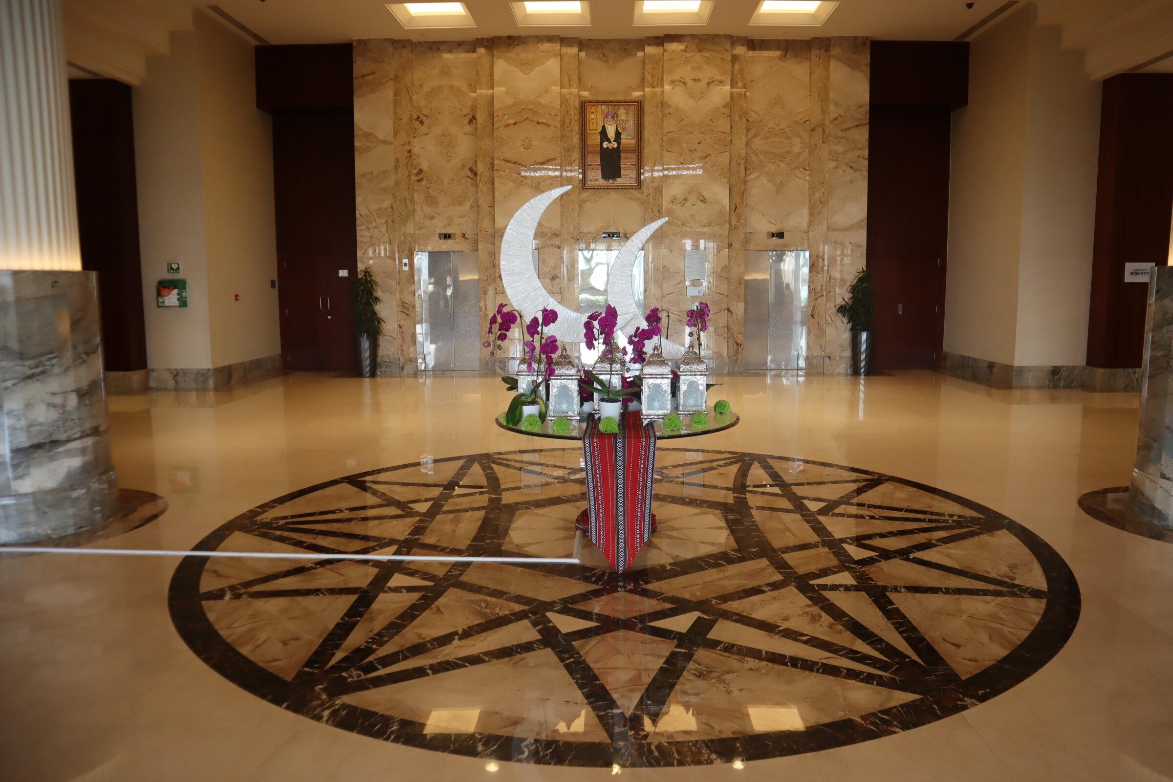Sheraton Oman – Lobby