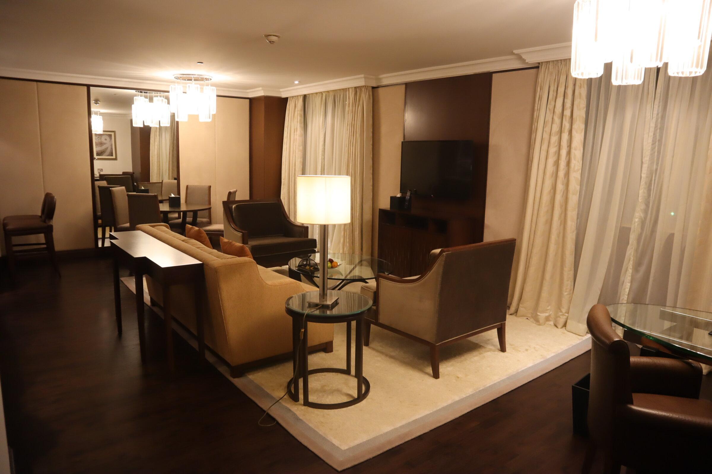 Sheraton Oman – Studio Suite living area