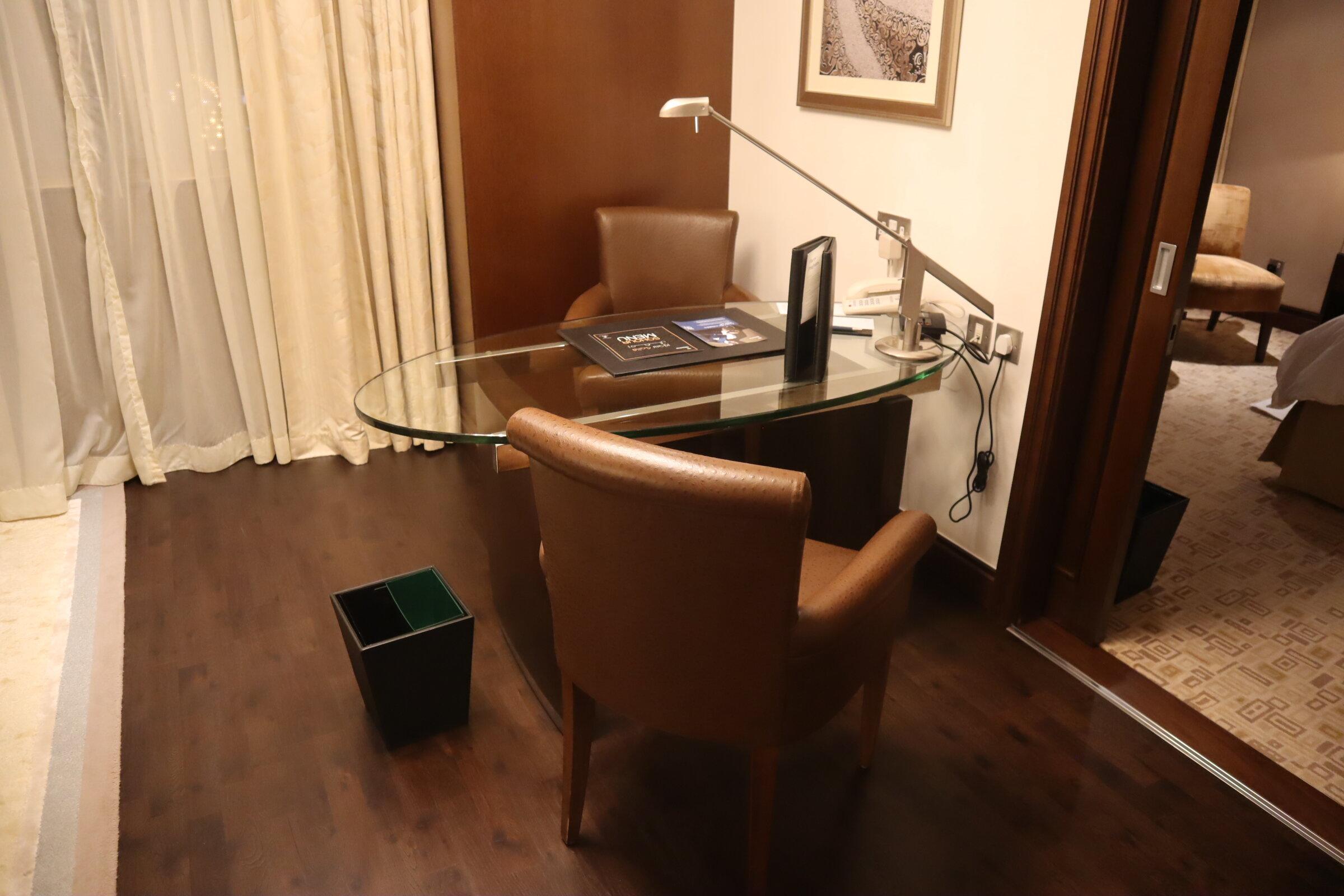Sheraton Oman – Studio Suite desk