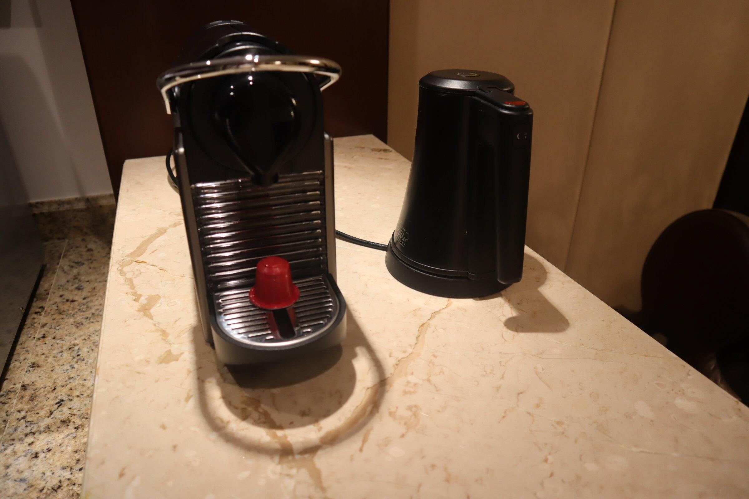 Sheraton Oman – Studio Suite coffee machine