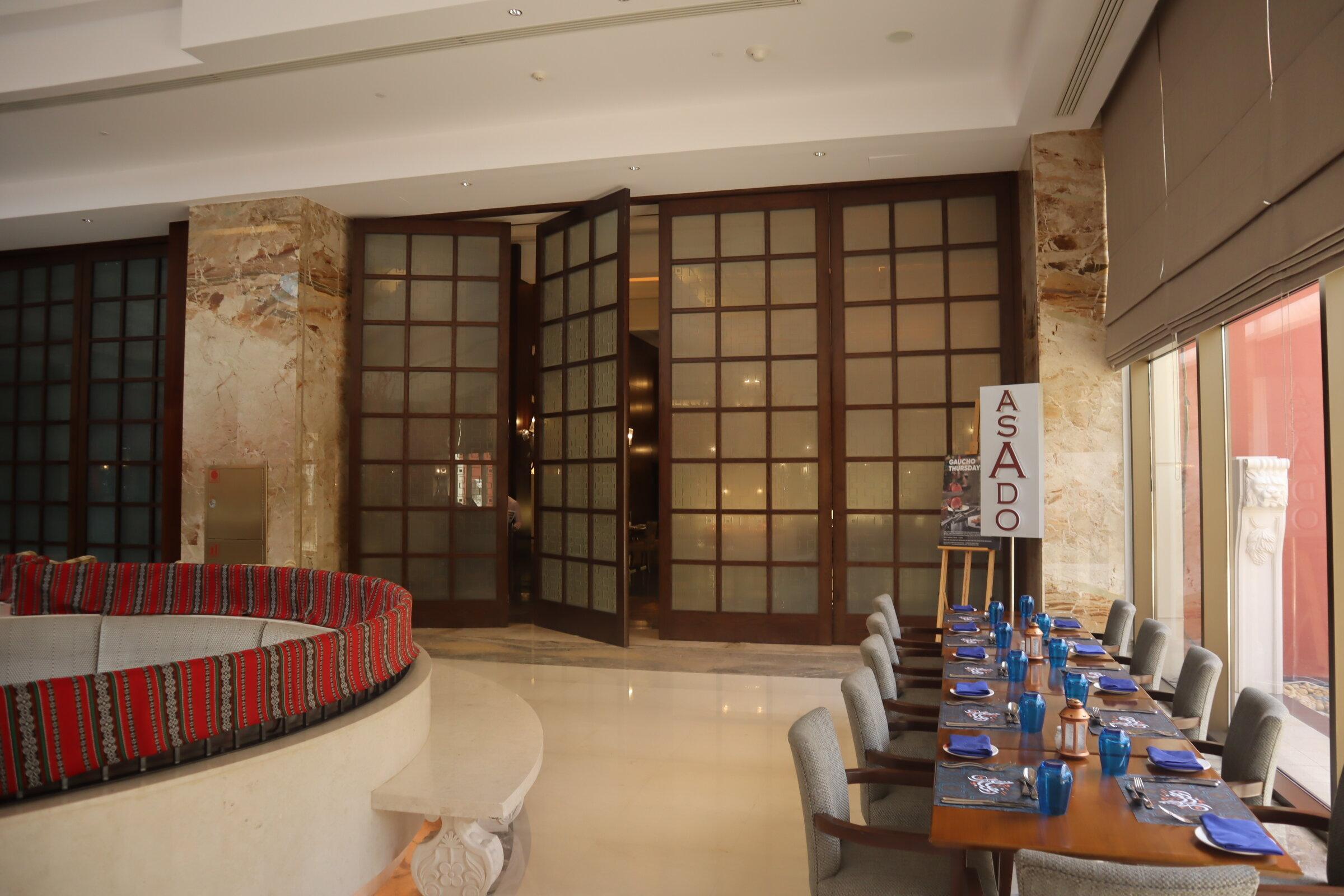 Sheraton Oman – Asado restaurant