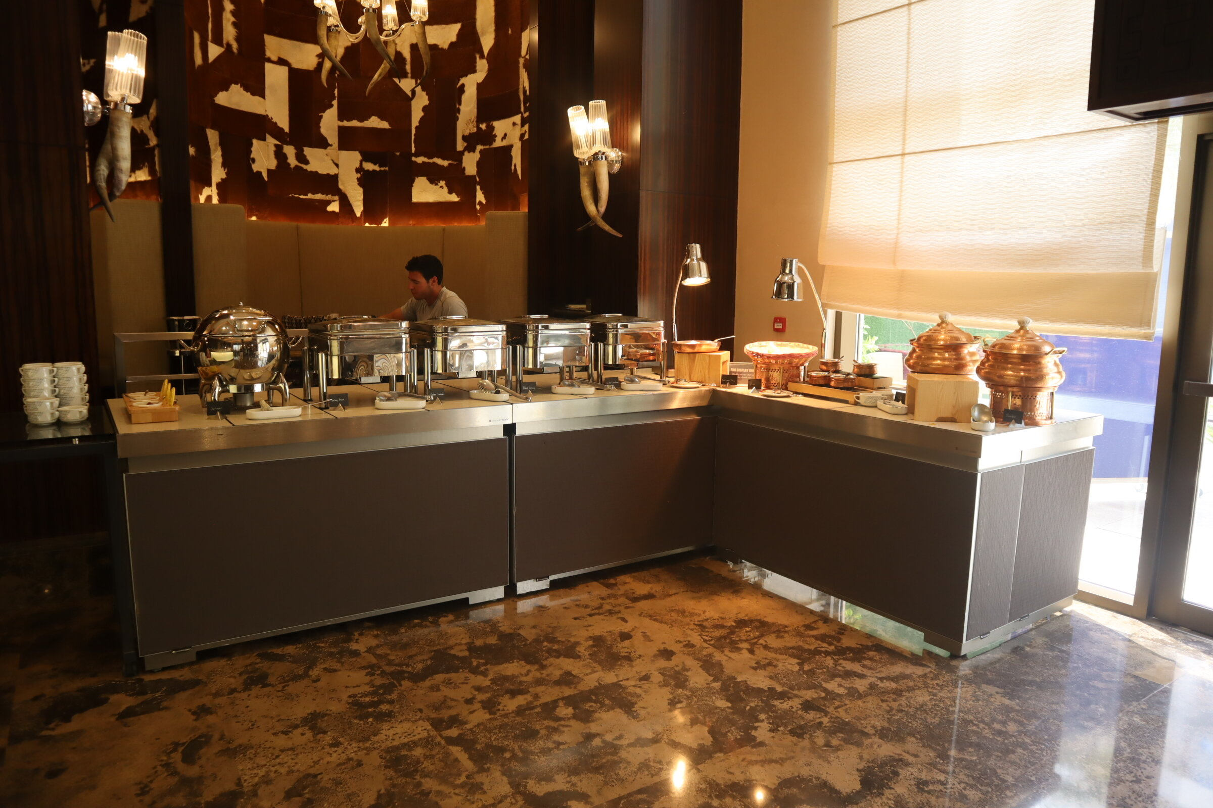 Sheraton Oman – Asado restaurant breakfast