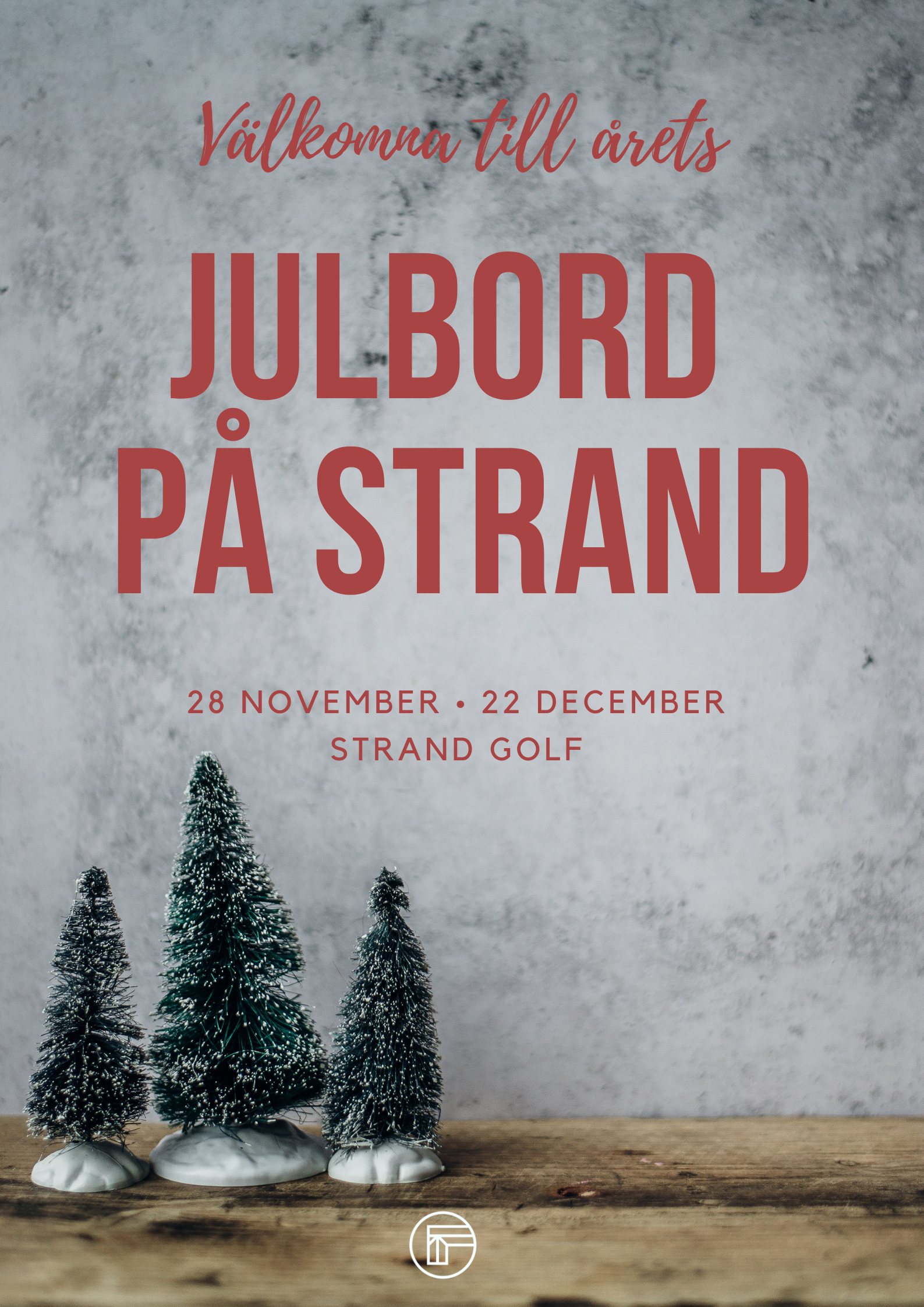 Julbord 2019 - We are now taking bookings for Julbord. More information can be found on the restaurant page of the website. Bookings can be made through email at info@strandgolf.se or by phoning the restaurant on 016 39 51 65.
