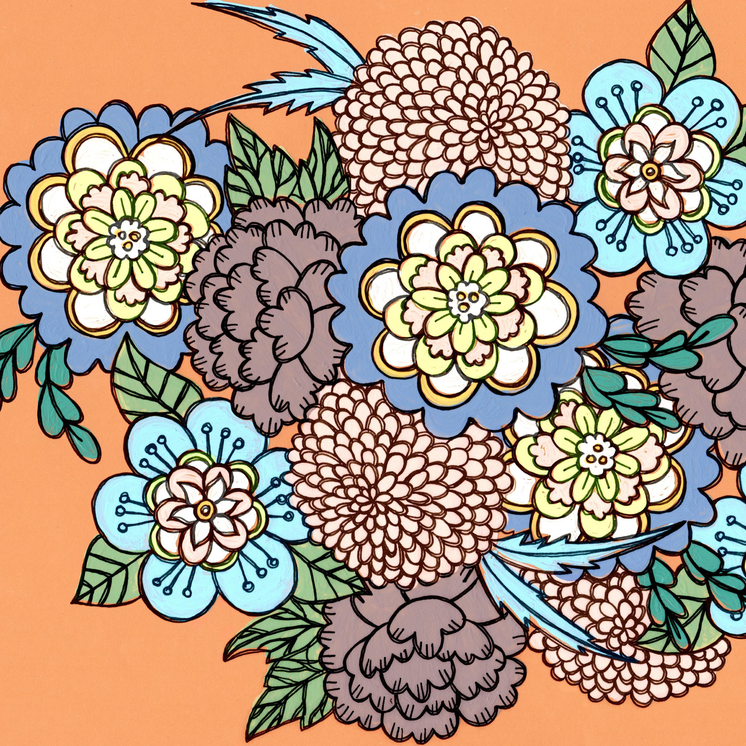 Bohemian Floral