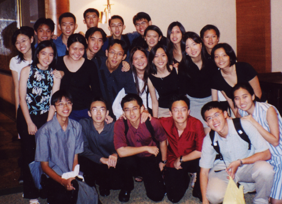 RWinds Players Performing at the ORA Annual Dinner in 2002.