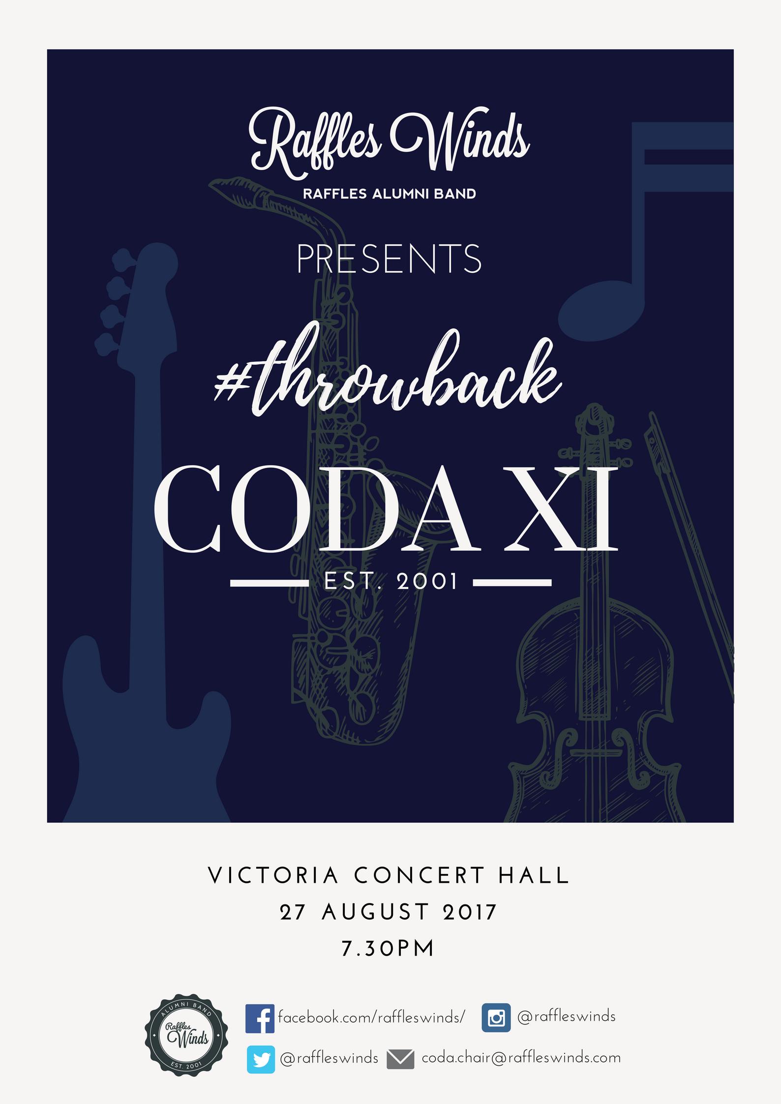 CODA XI 2017 Poster
