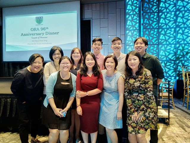 RWinds represent, at the ORA 96th Anniversary Dinner!