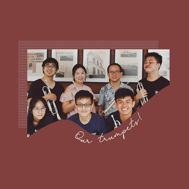 We hope everyone has had a much deserved long weekend! As Coda XIII draws near, we'll be introducing our lovely musicians for this year and sharing why RWinds means so much to us all ˘◡˘ These are our trumpeters, amongst whom we have Tiong Jin (top row, 2nd from right), one of our band's most senior members! In fact, for the 2nd year in a row, Tiong Jin is playing alongside his nephew, @eyepatchedjon (Jon, percussion) in RWinds :–,) Like for Tiong Jin, RWinds is a precious opportunity for many of us to relive our younger days in band while also meeting new friends from all walks of life, and it would mean the world to have your support from the audience. Coda XIII is on 31 August, 7.30pm at Victoria Concert Hall — DM this account or contact any friendly RWinds member for tickets!