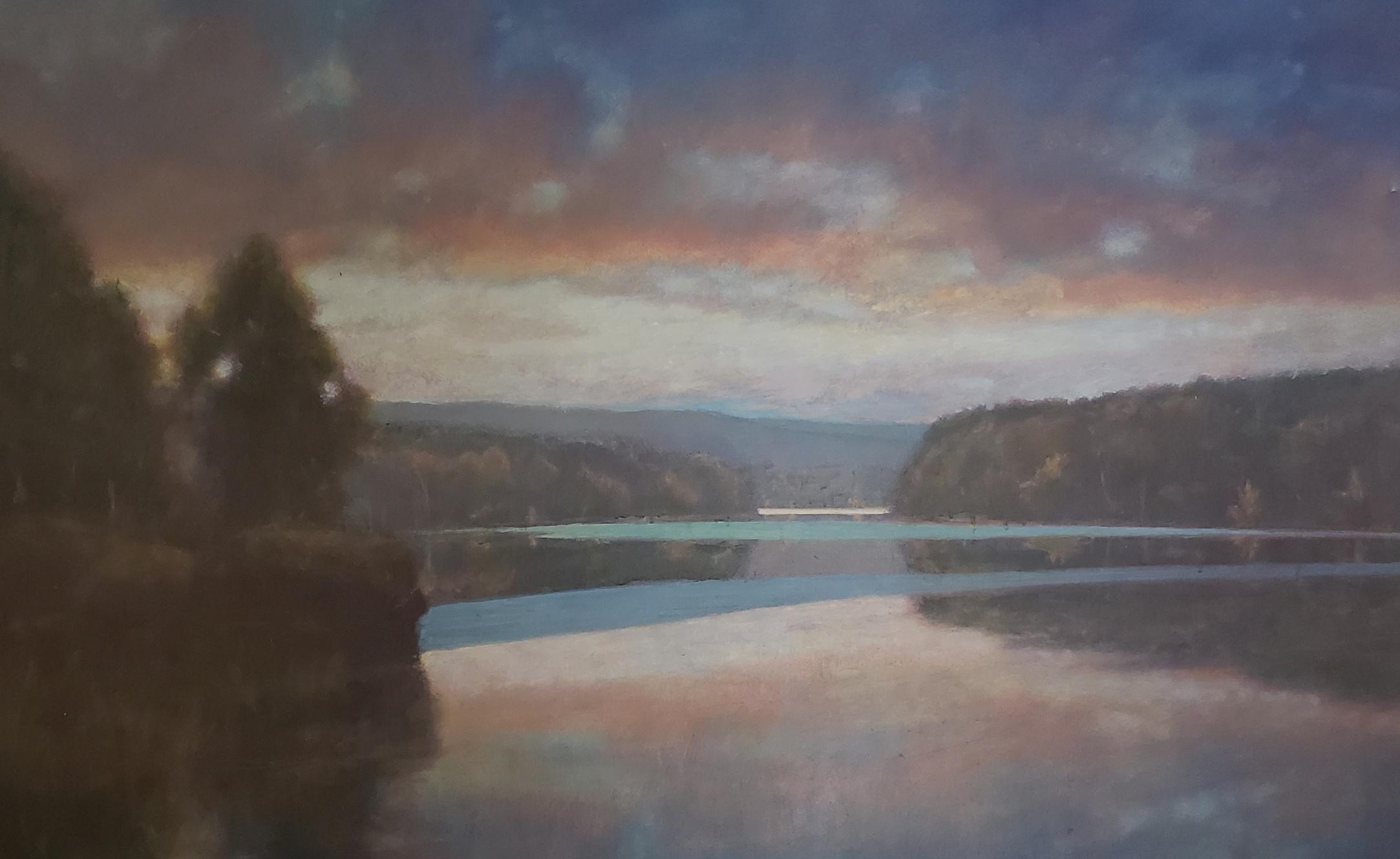 Spring Lake  36 x 48 acrylic