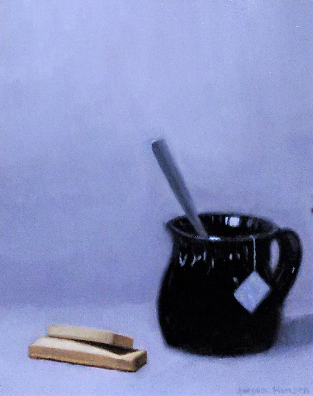 Afternoon Tea  #2 10 x 8 oil