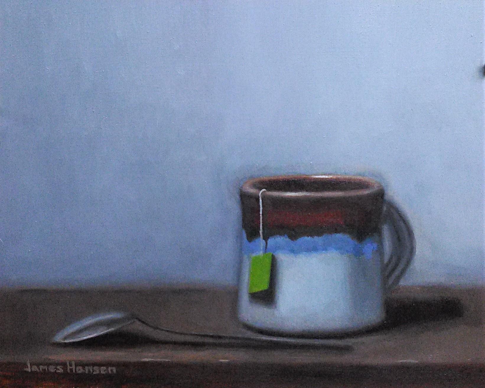 Afternoon Tea 8 x 10  oil