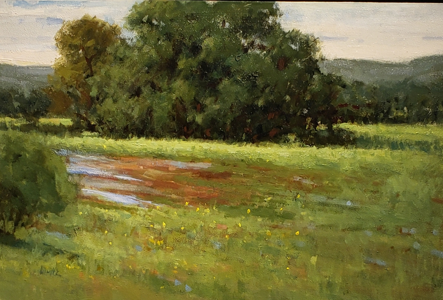 After the Rain 12 x 18 oil